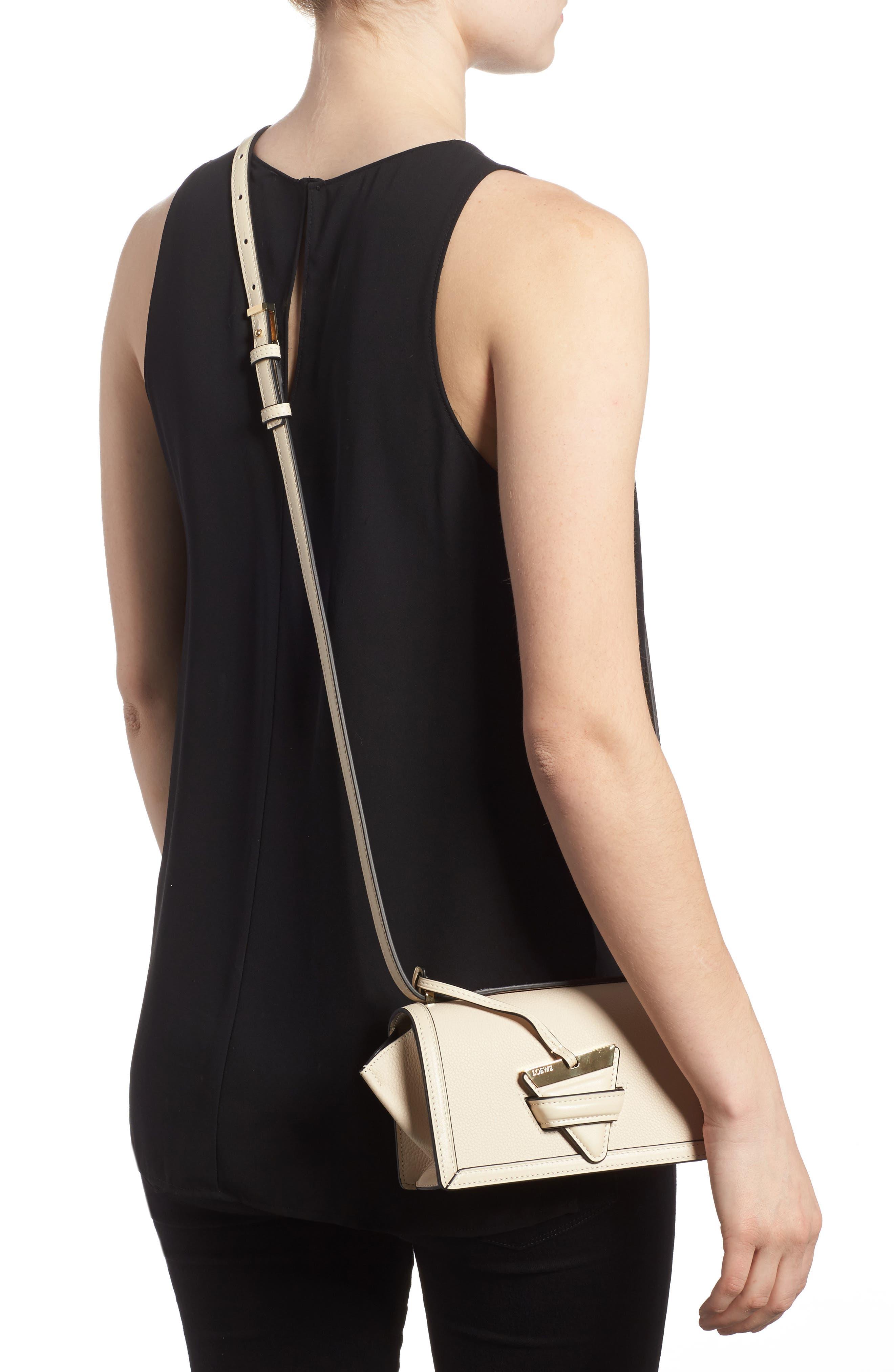 Alternate Image 2  - Loewe Small Barcelona Grainy Leather Crossbody Bag