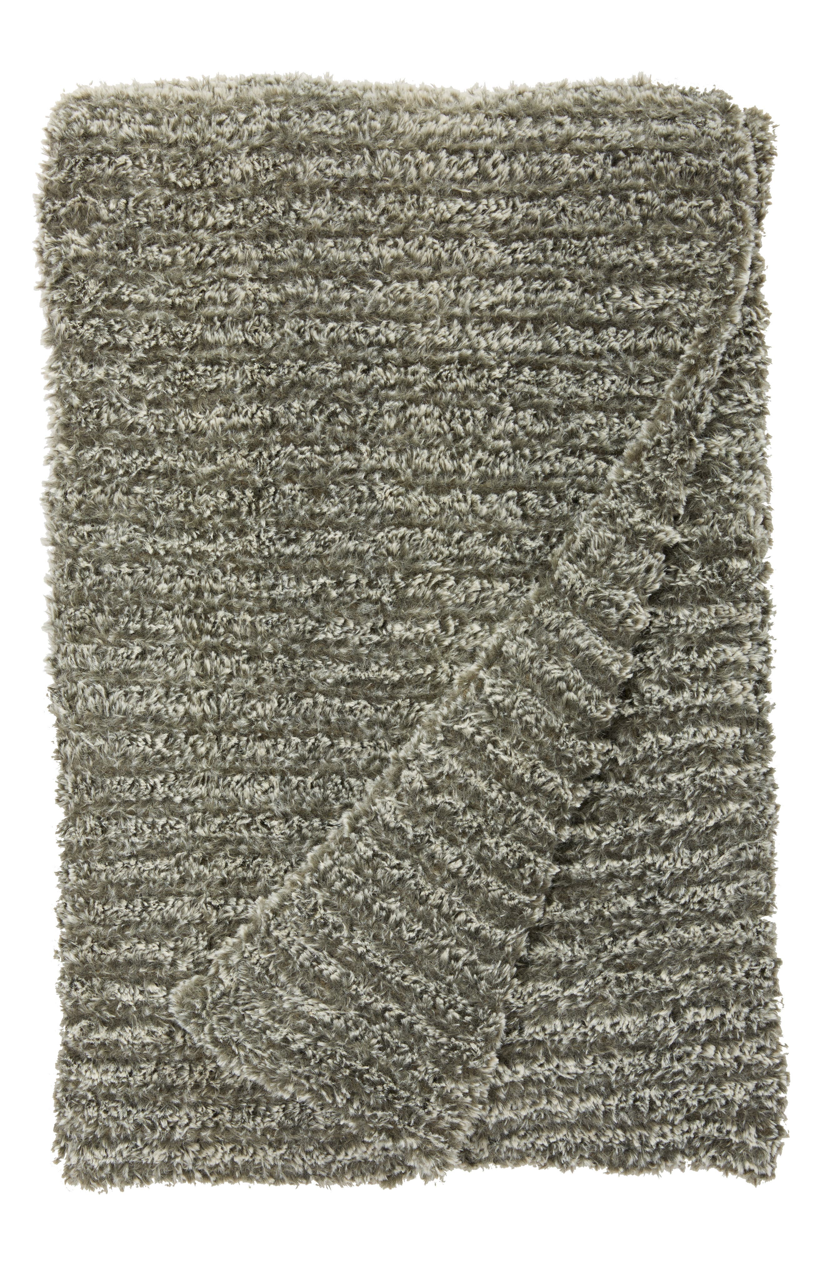 Alternate Image 1 Selected - Giraffe at Home Luxe™ Knit Throw Blanket