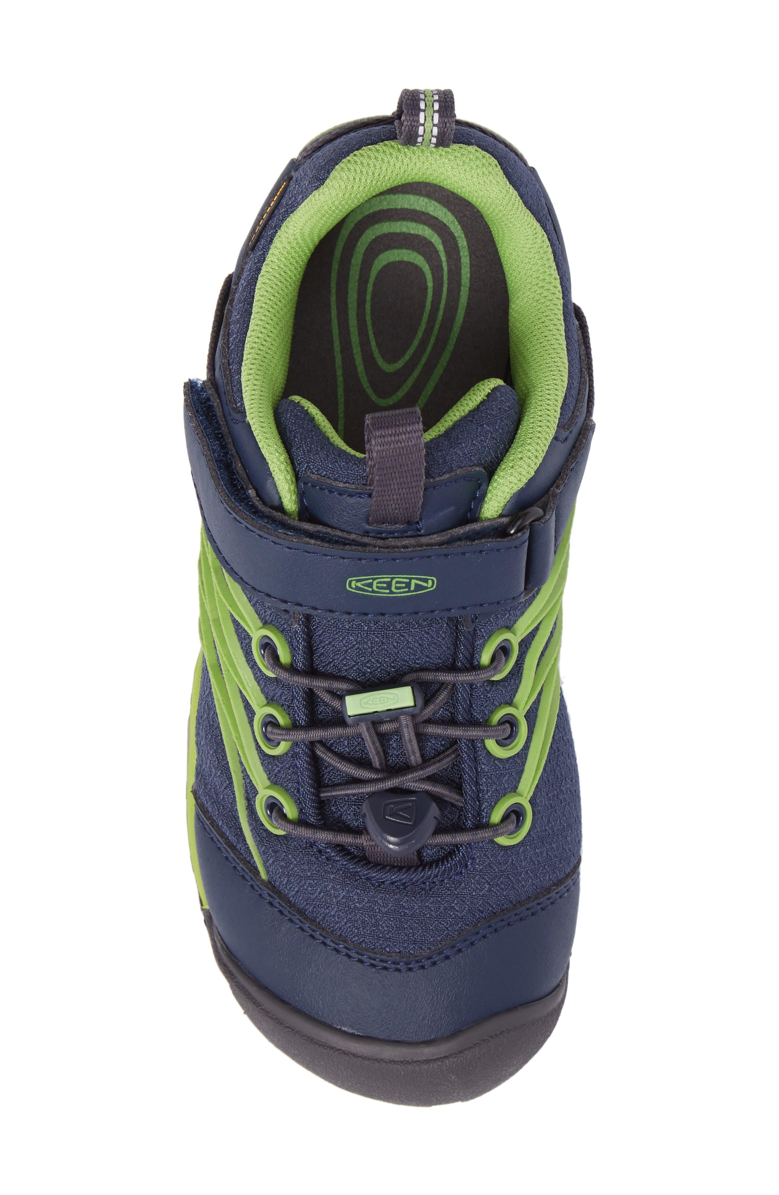 Chandler CNX Waterproof Sneaker,                             Alternate thumbnail 5, color,                             Dress Blues/ Greenery