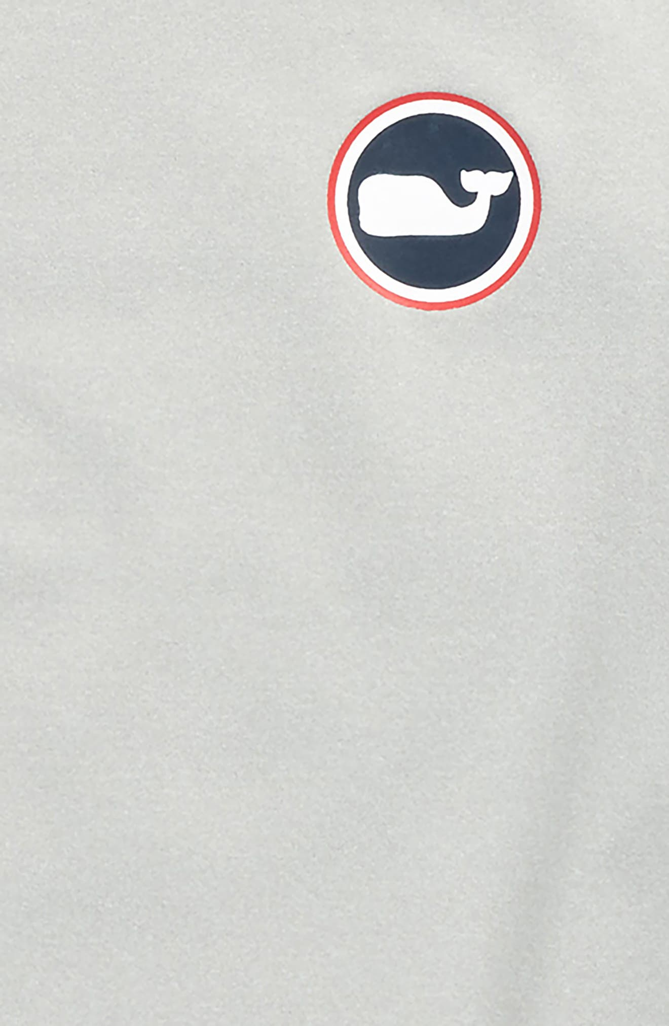 Whale Dot Performance T-Shirt,                             Alternate thumbnail 3, color,                             Gray Heather