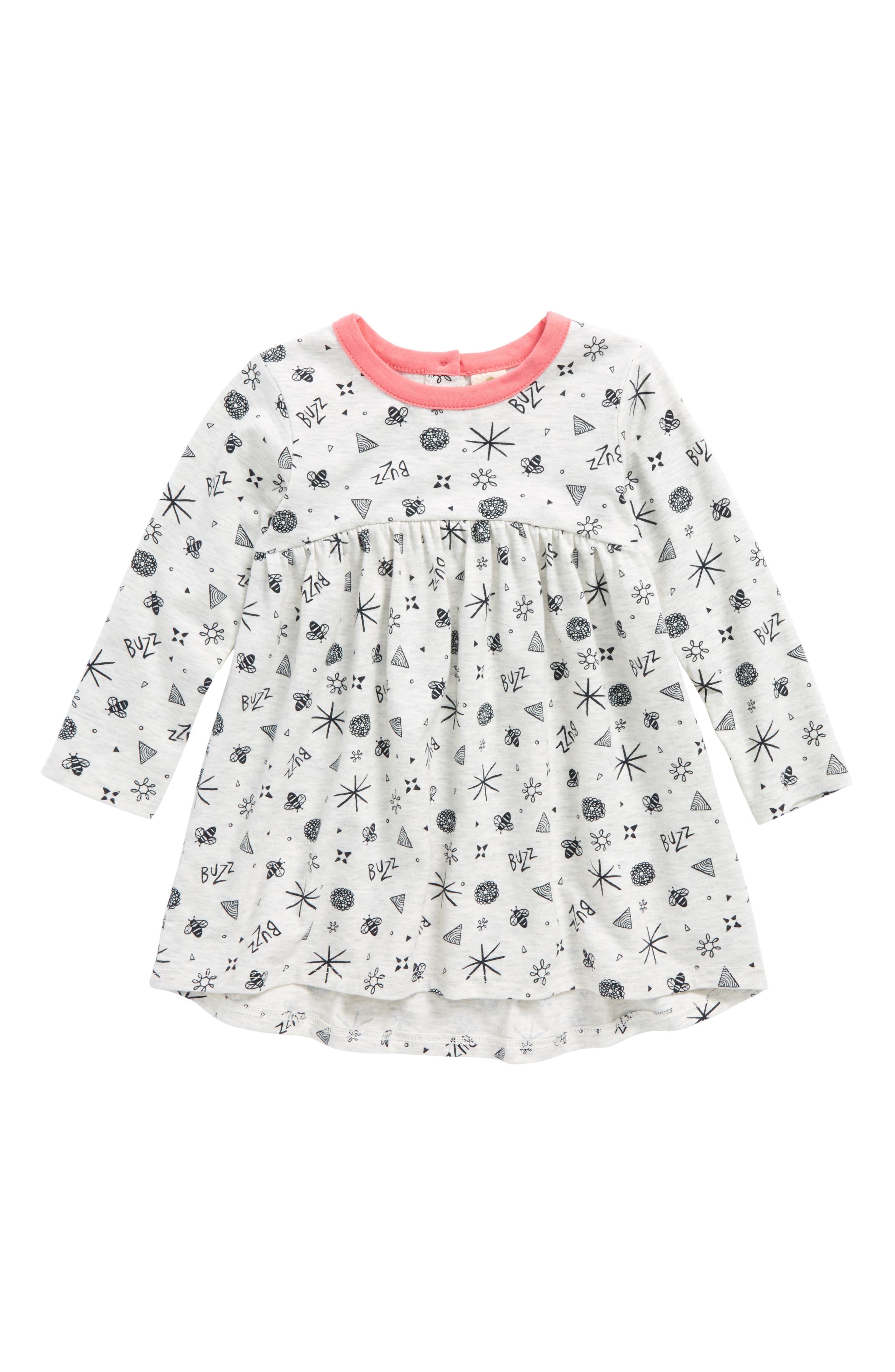Tucker + Tate High/Low Dress (Baby Girls)