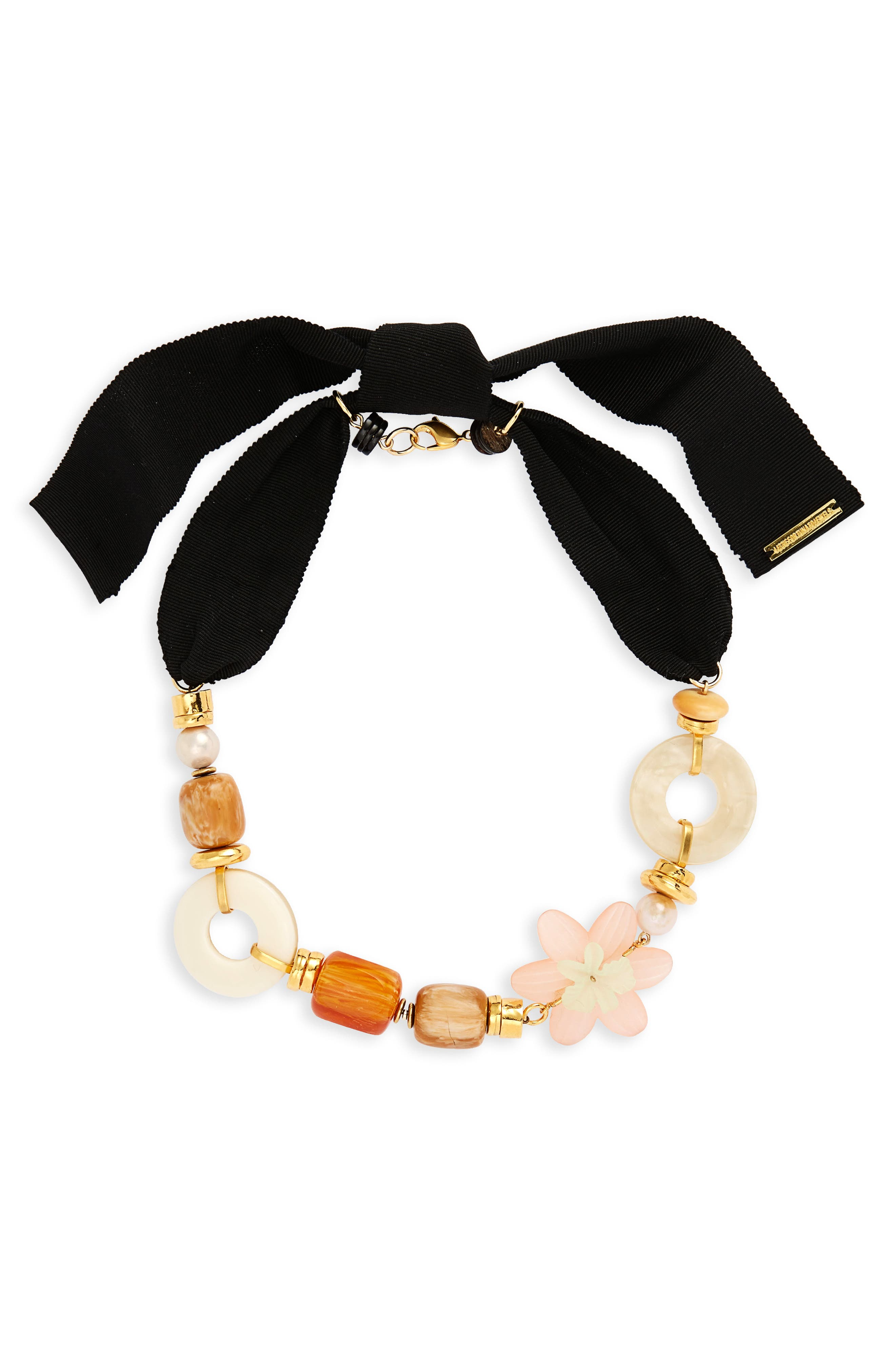 Go-Go Necklace,                             Main thumbnail 1, color,                             Gold Multi