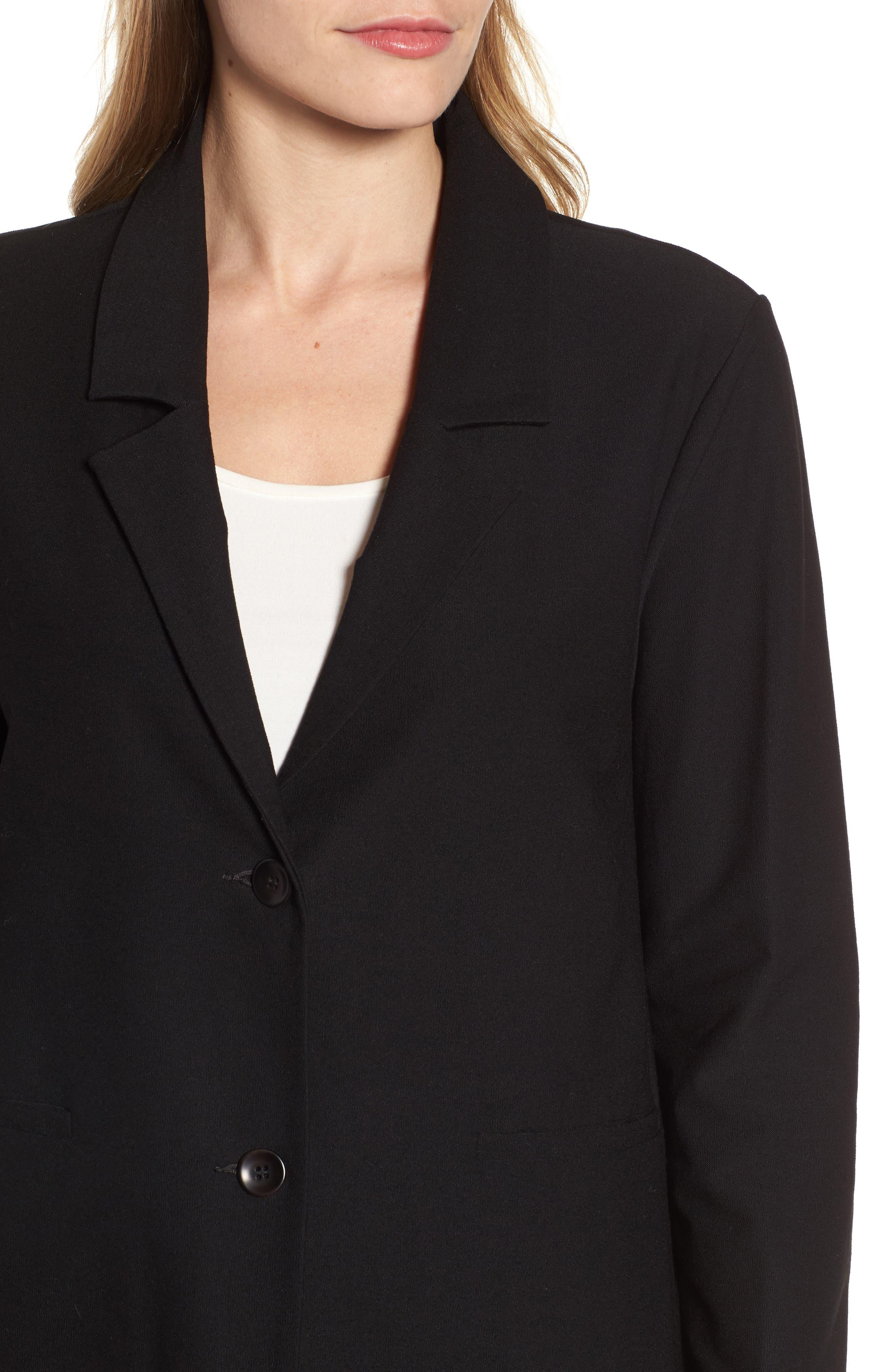 Alternate Image 4  - Eileen Fisher Notch Collar Boxy Jacket