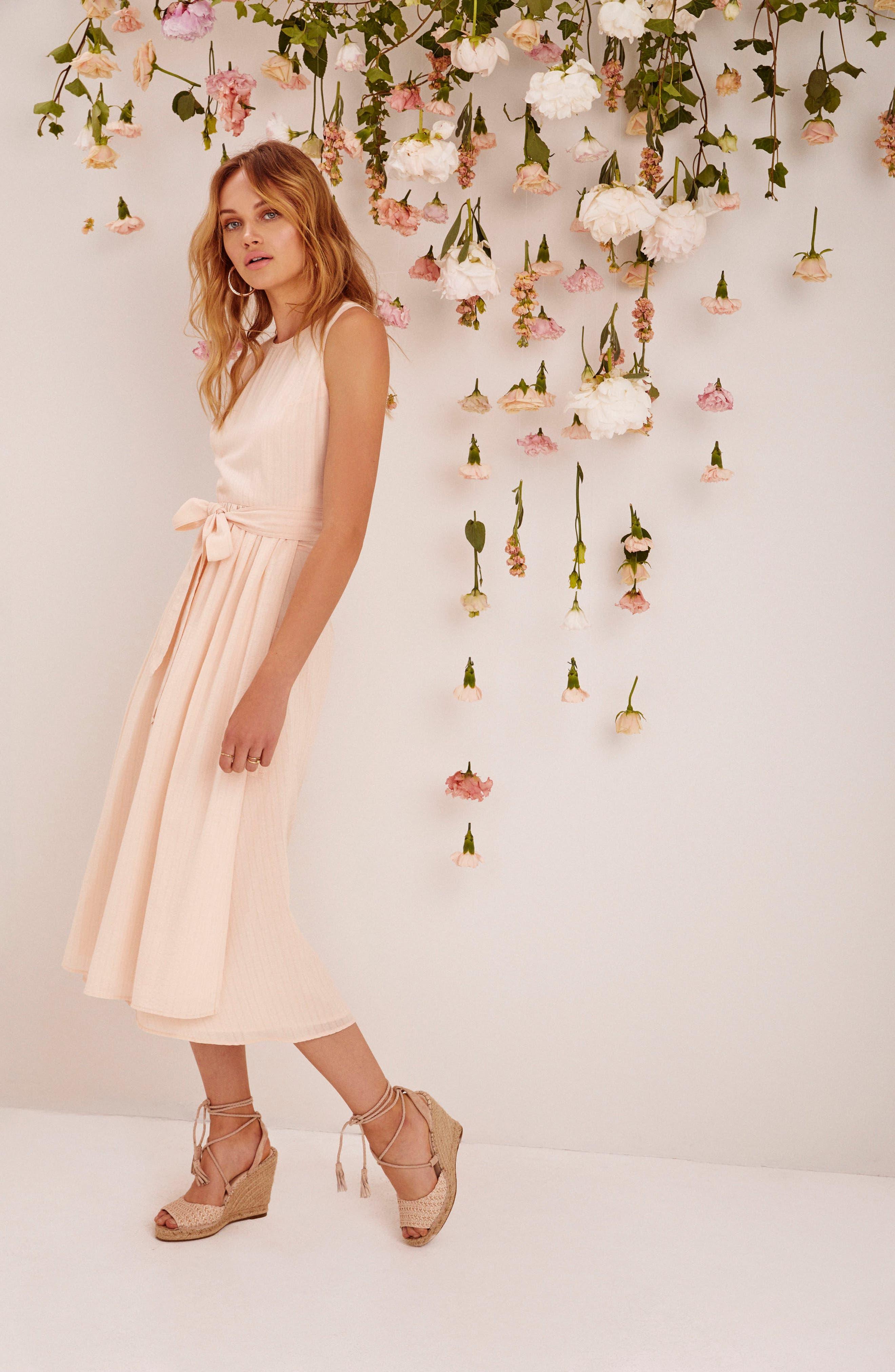 Brady Dress,                             Alternate thumbnail 2, color,                             Powder Pink