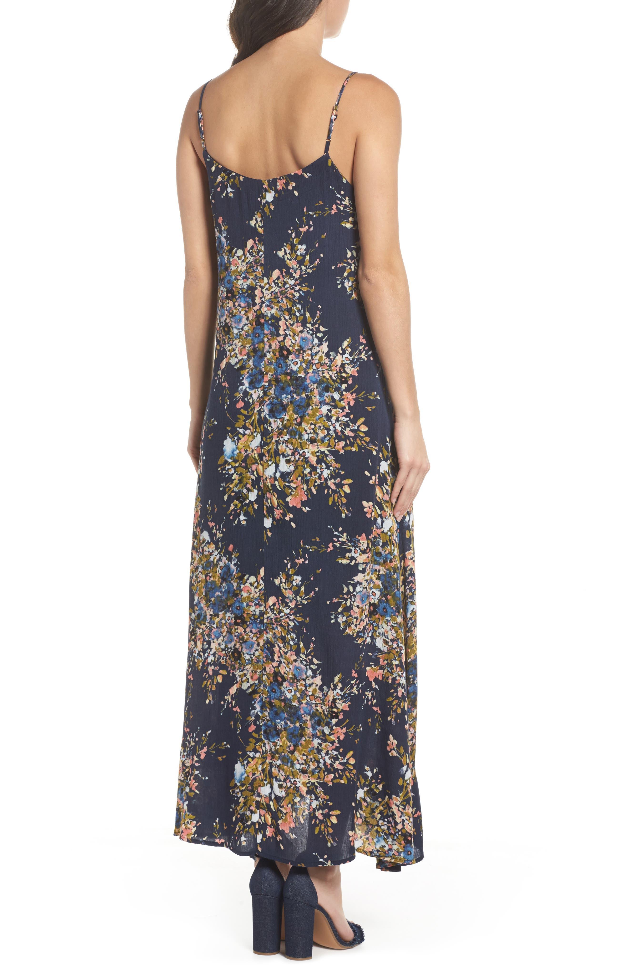 Maxi Dress,                             Alternate thumbnail 2, color,                             Freesia
