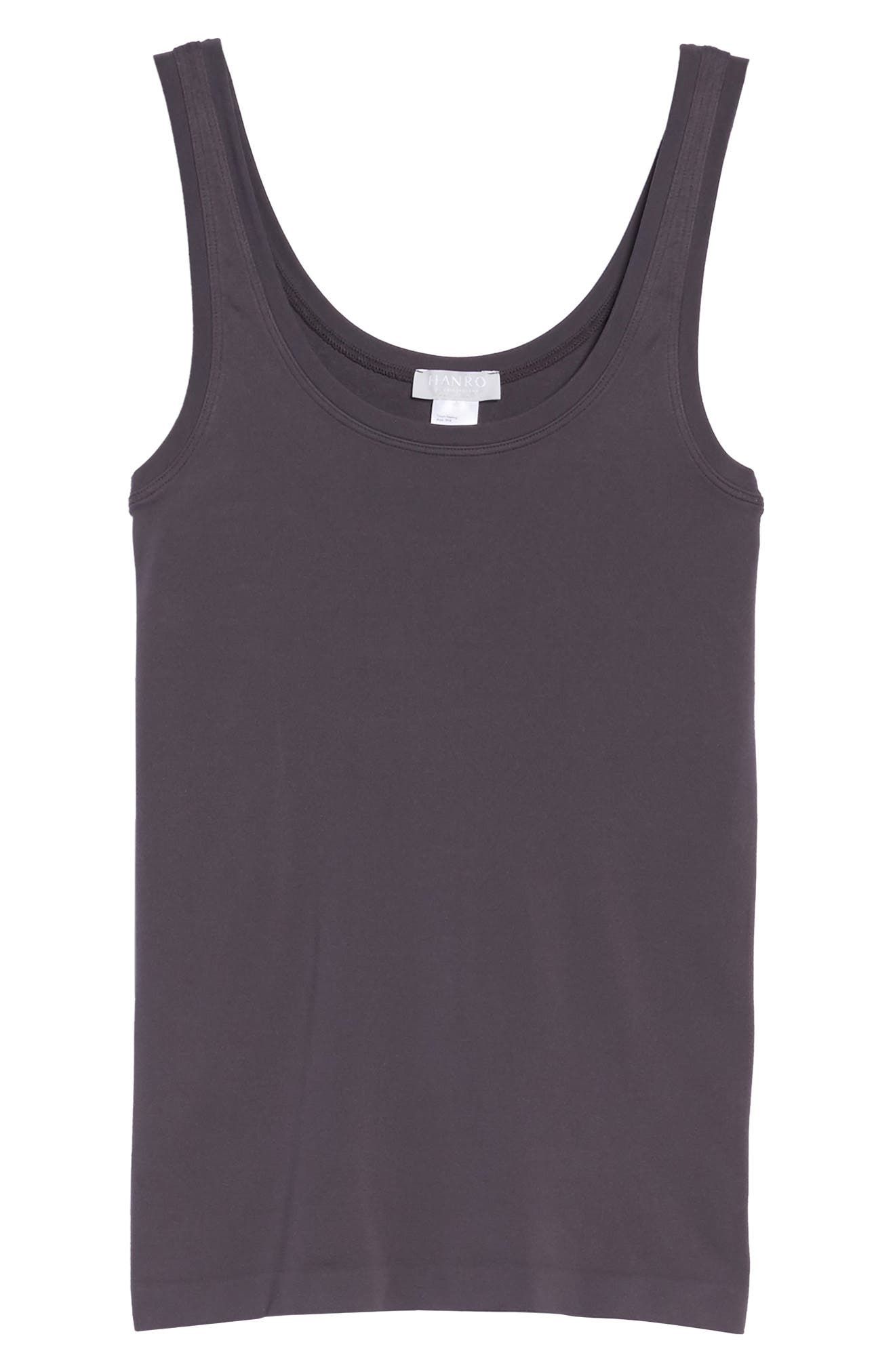 'Touch Feeling' Tank,                             Alternate thumbnail 6, color,                             Carbon