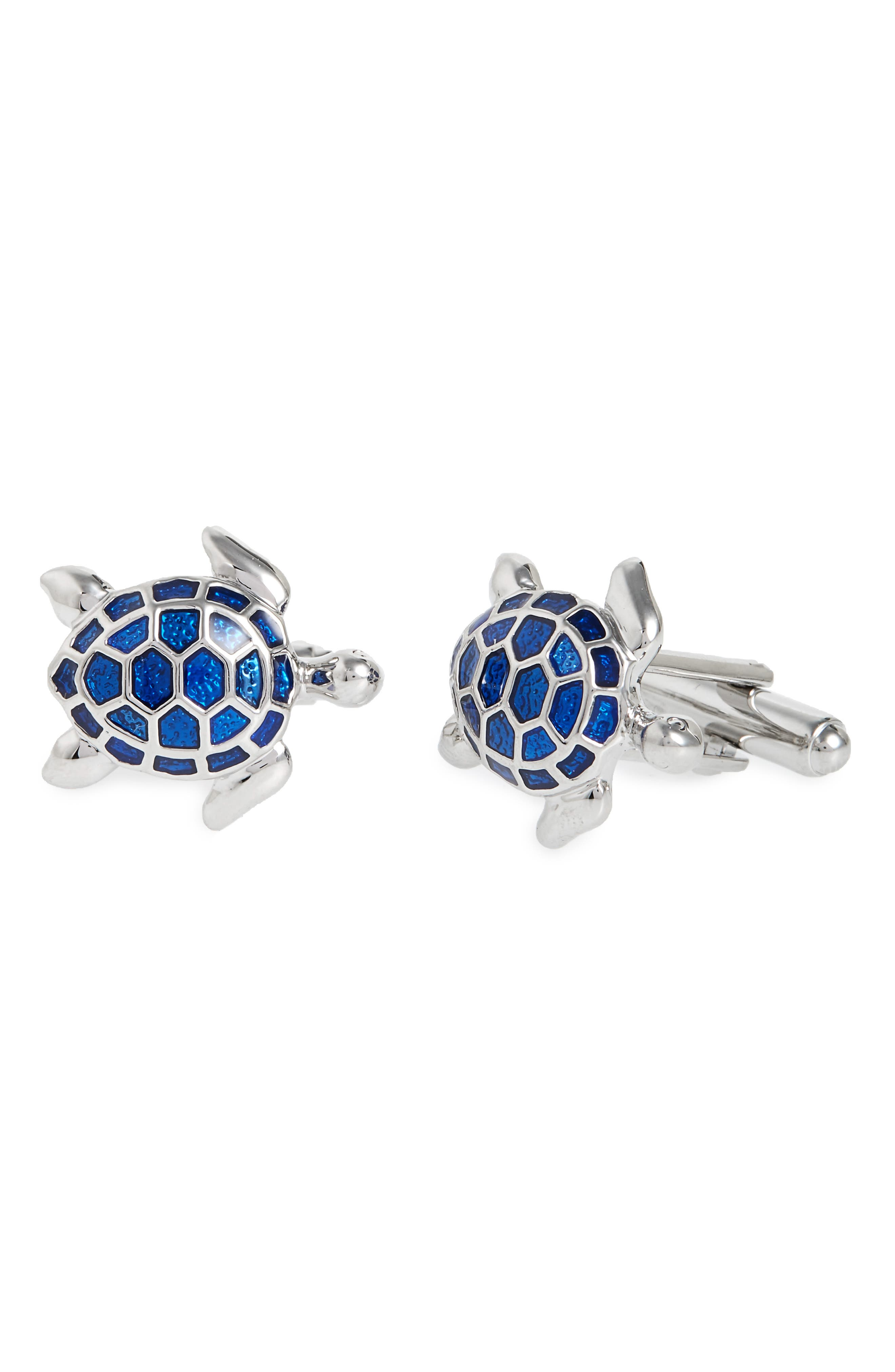 Link Up Sea Turtle Cuff Links