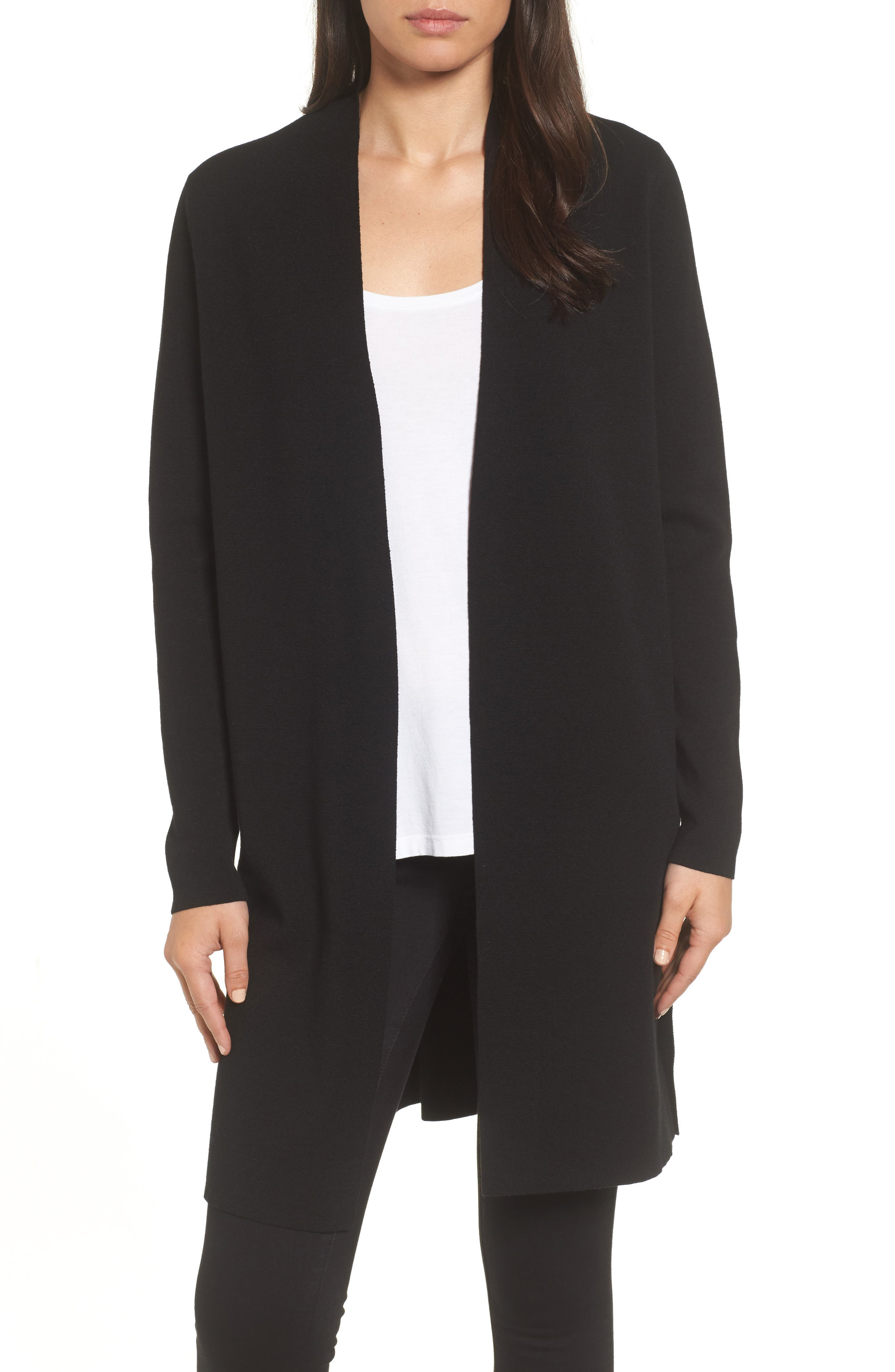 Emerson Rose Long Open Front Cardigan