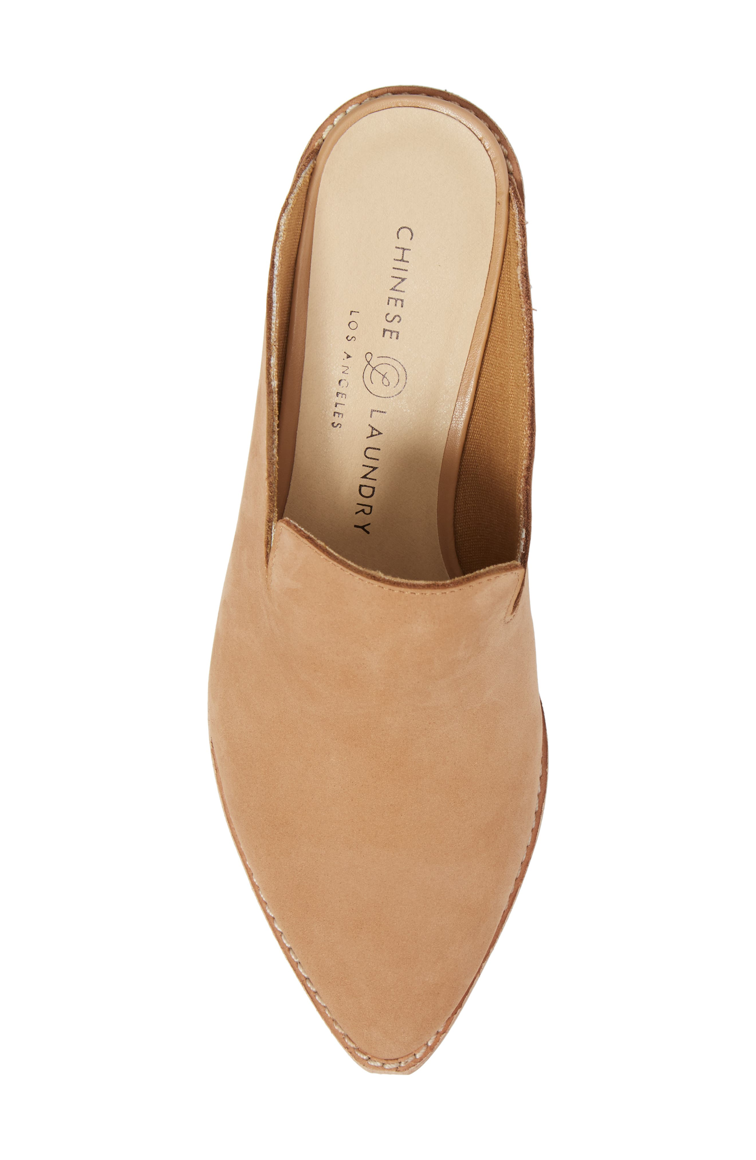 Marnie Loafer Mule,                             Alternate thumbnail 5, color,                             Natural