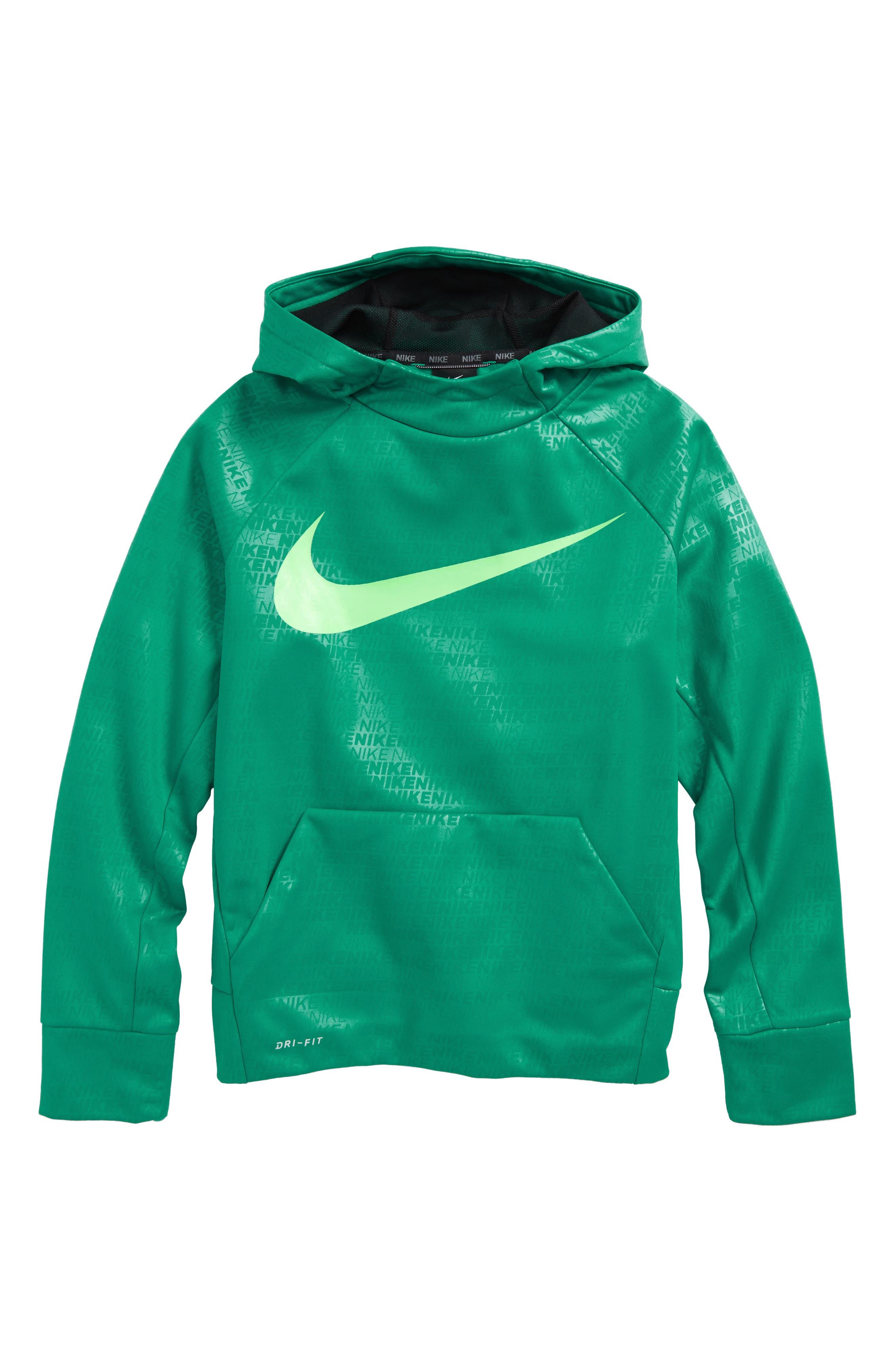 Nike Therma Elite Dry Hoodie (Little Boys & Big Boys)