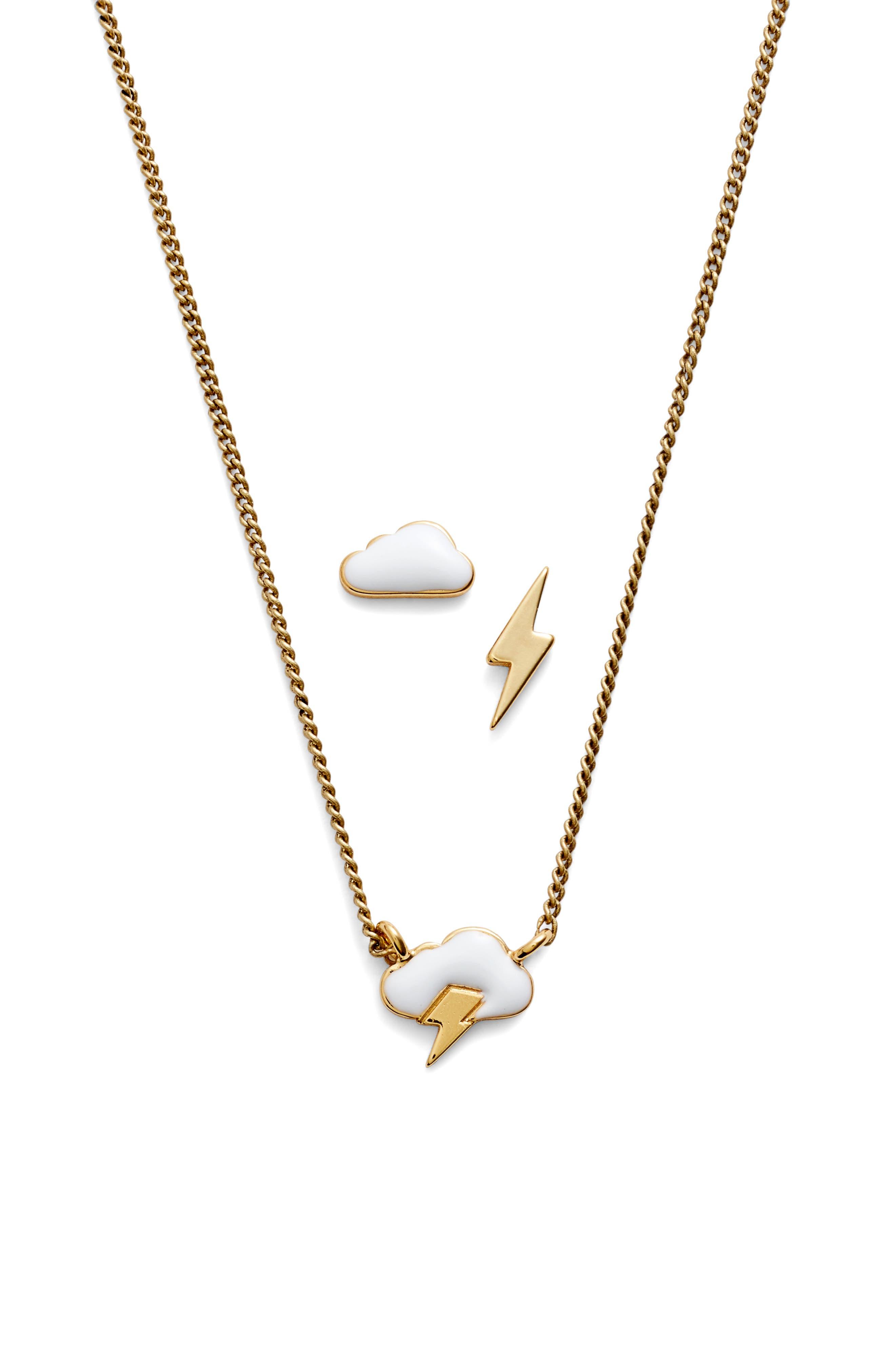 Alternate Image 2  - Jenny Bird Dark & Stormy Necklace Set