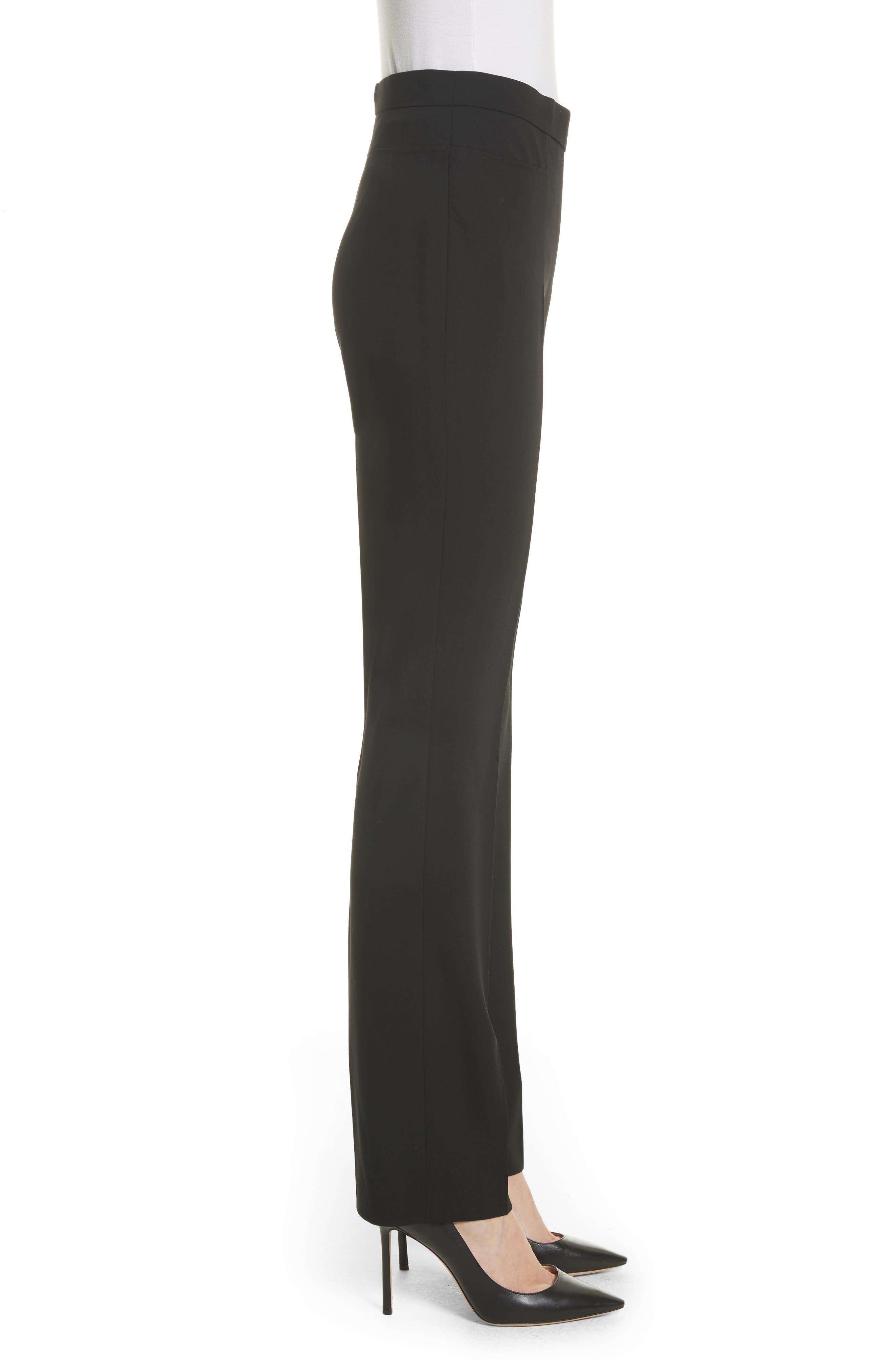Alternate Image 3  - Akris punto Francoise Wool Straight Leg Pants