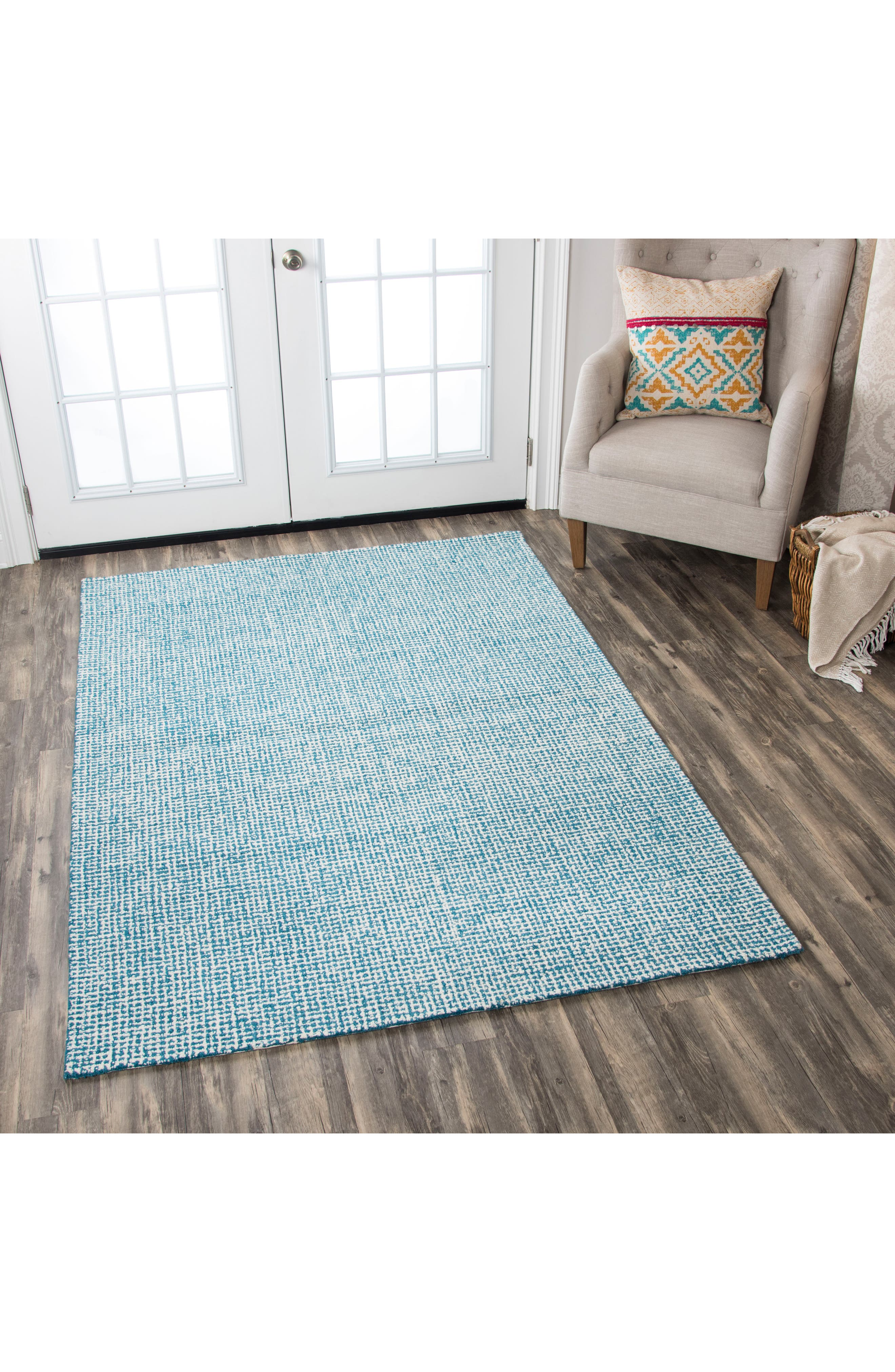 Alternate Image 4  - Rizzy Home Brindleton Collection Grid Rug