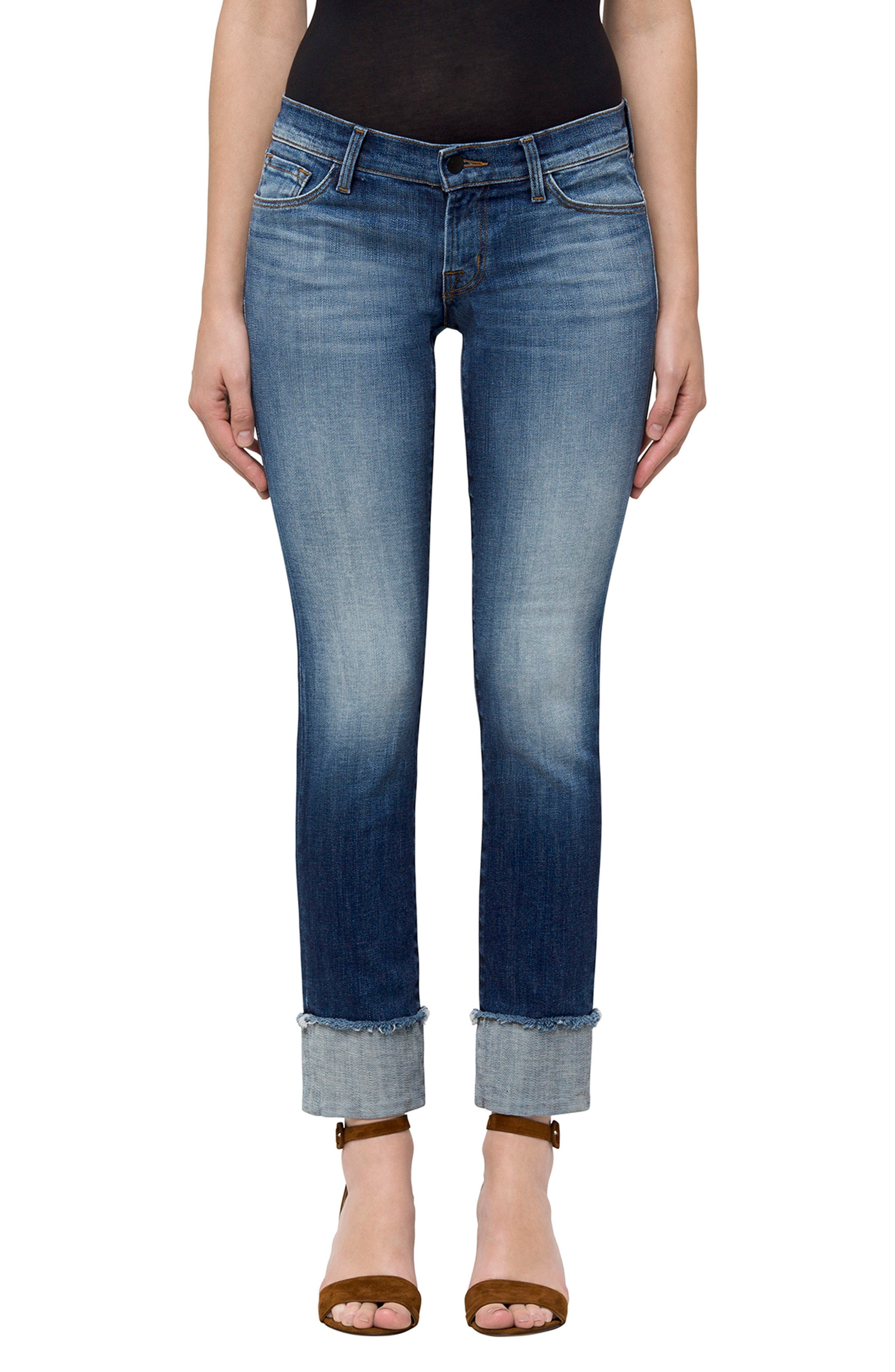Main Image - J Brand Hipster Low Rise Jeans (Jasper)