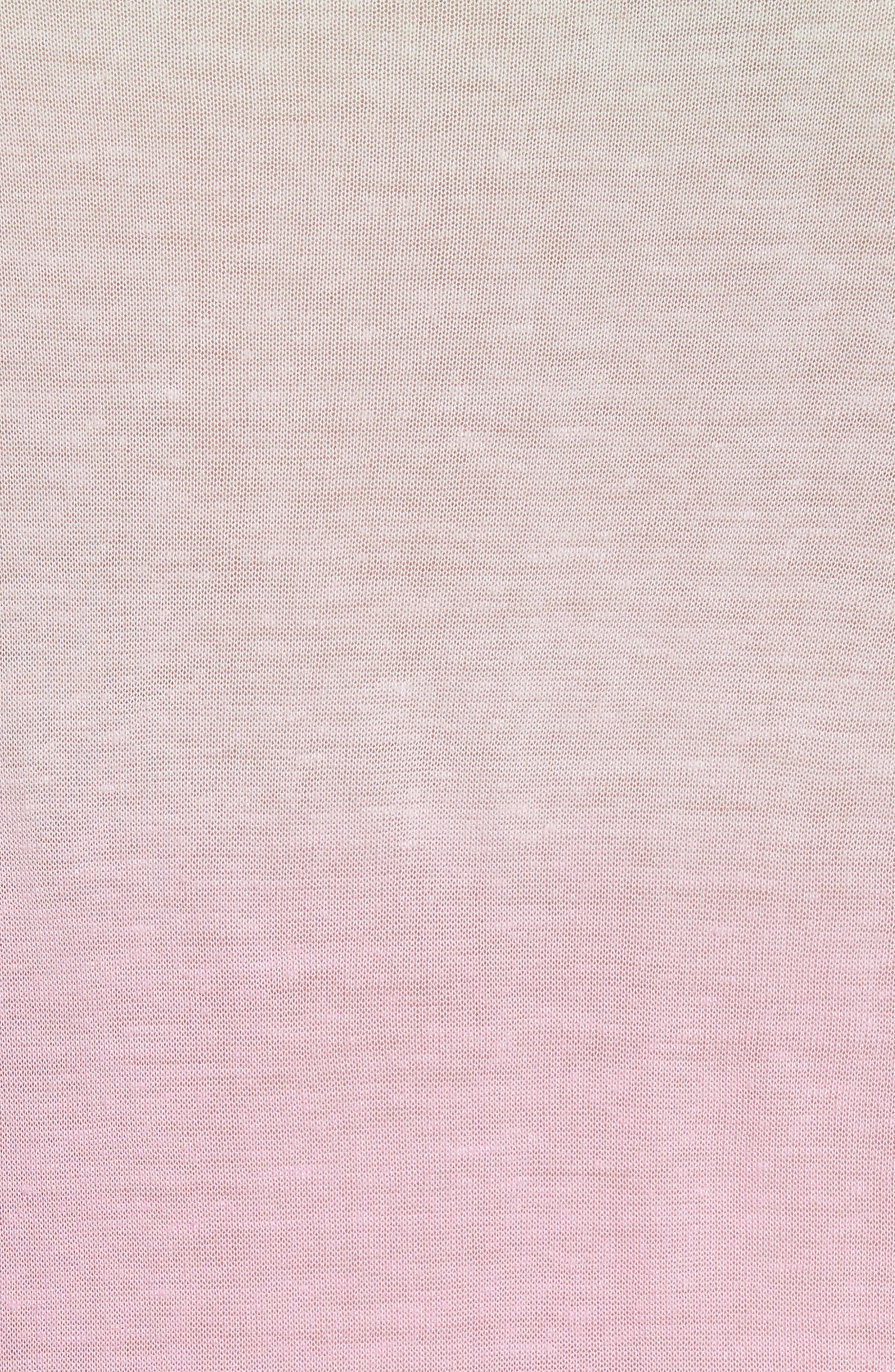Ombré Sweater,                             Alternate thumbnail 5, color,                             Rosewater
