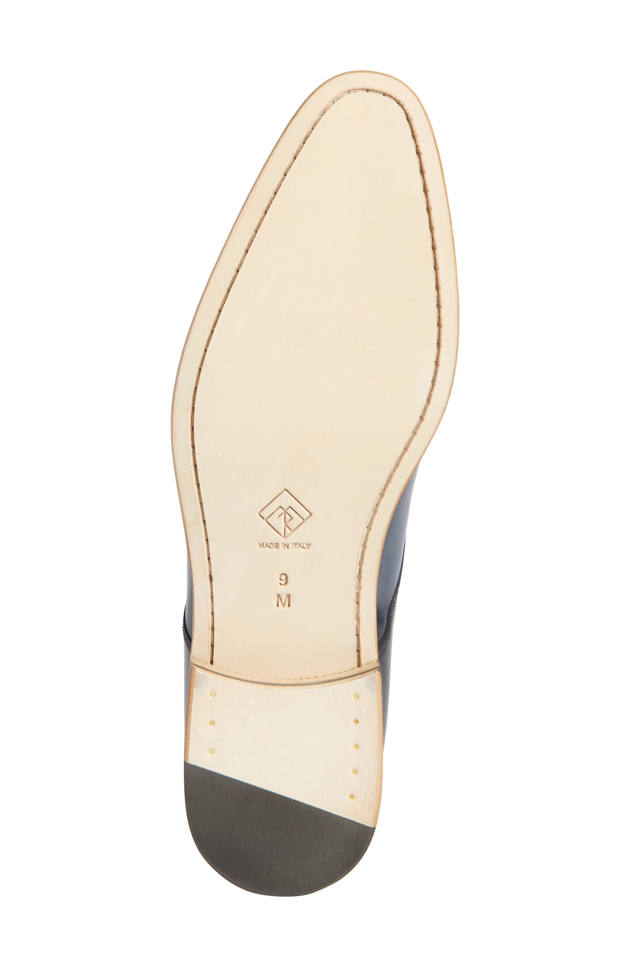 Alessandro Derby,                             Alternate thumbnail 6, color,                             Navy Leather