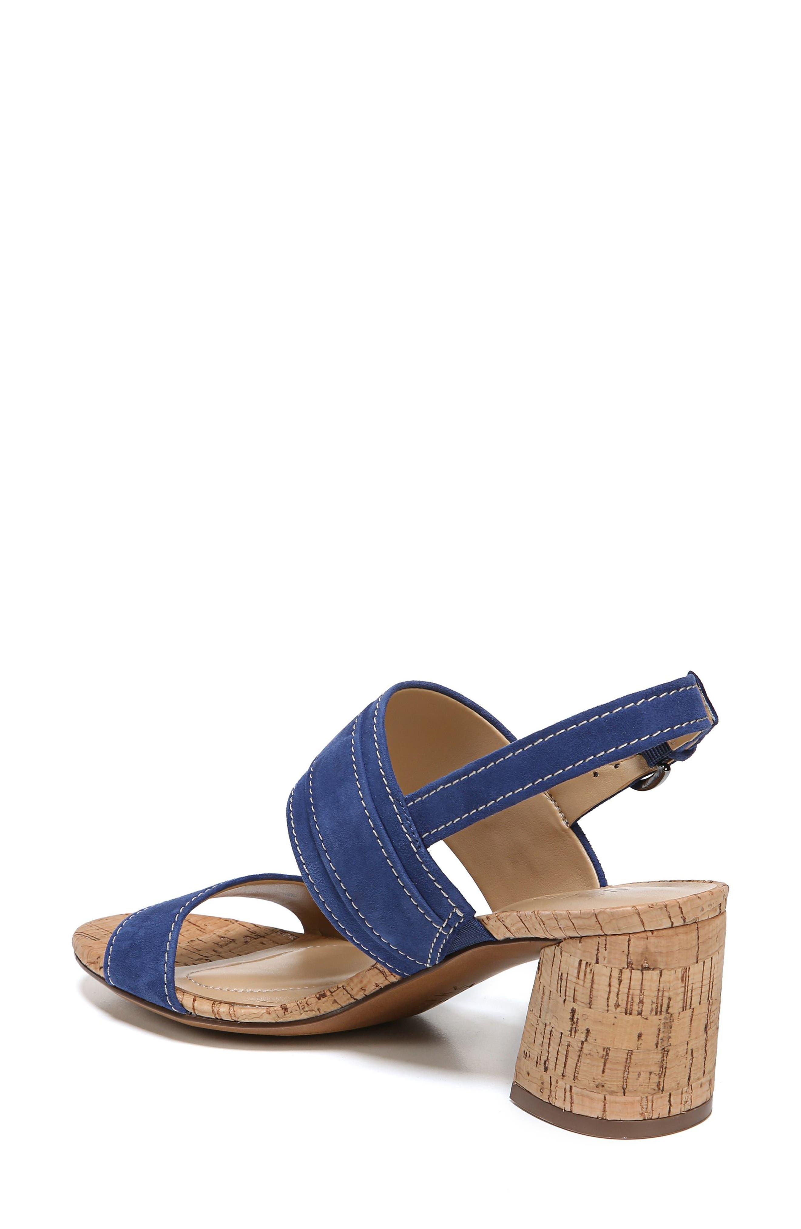 Camden Sandal,                             Alternate thumbnail 2, color,                             Blue Suede