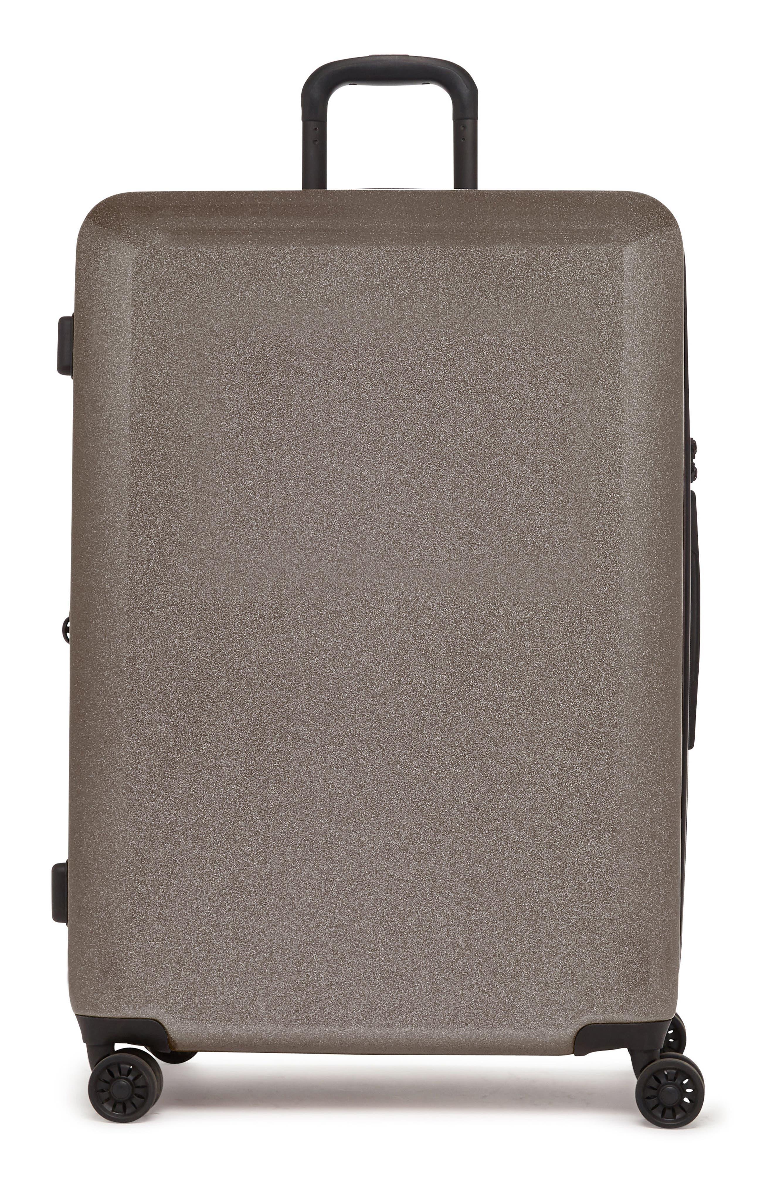 CALPAK Medora Glitter 28-Inch Hardshell Spinner Suitcase