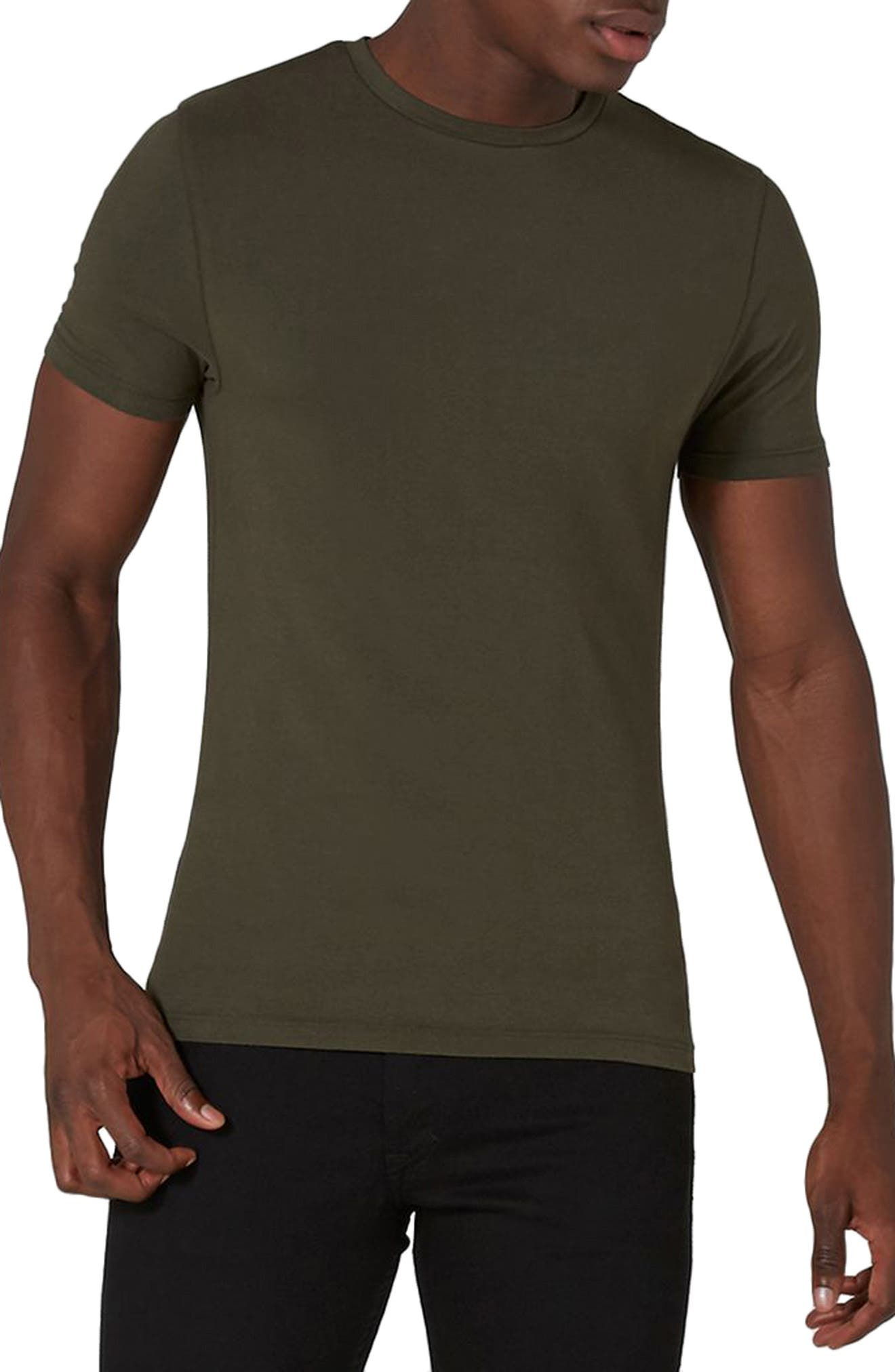 Ultra Muscle Fit T-Shirt,                         Main,                         color, Olive
