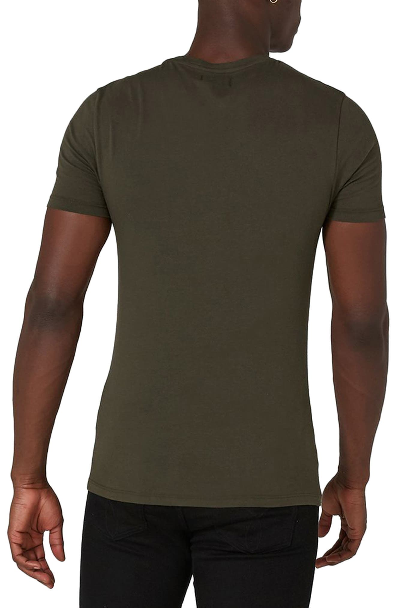 Ultra Muscle Fit T-Shirt,                             Alternate thumbnail 2, color,                             Olive