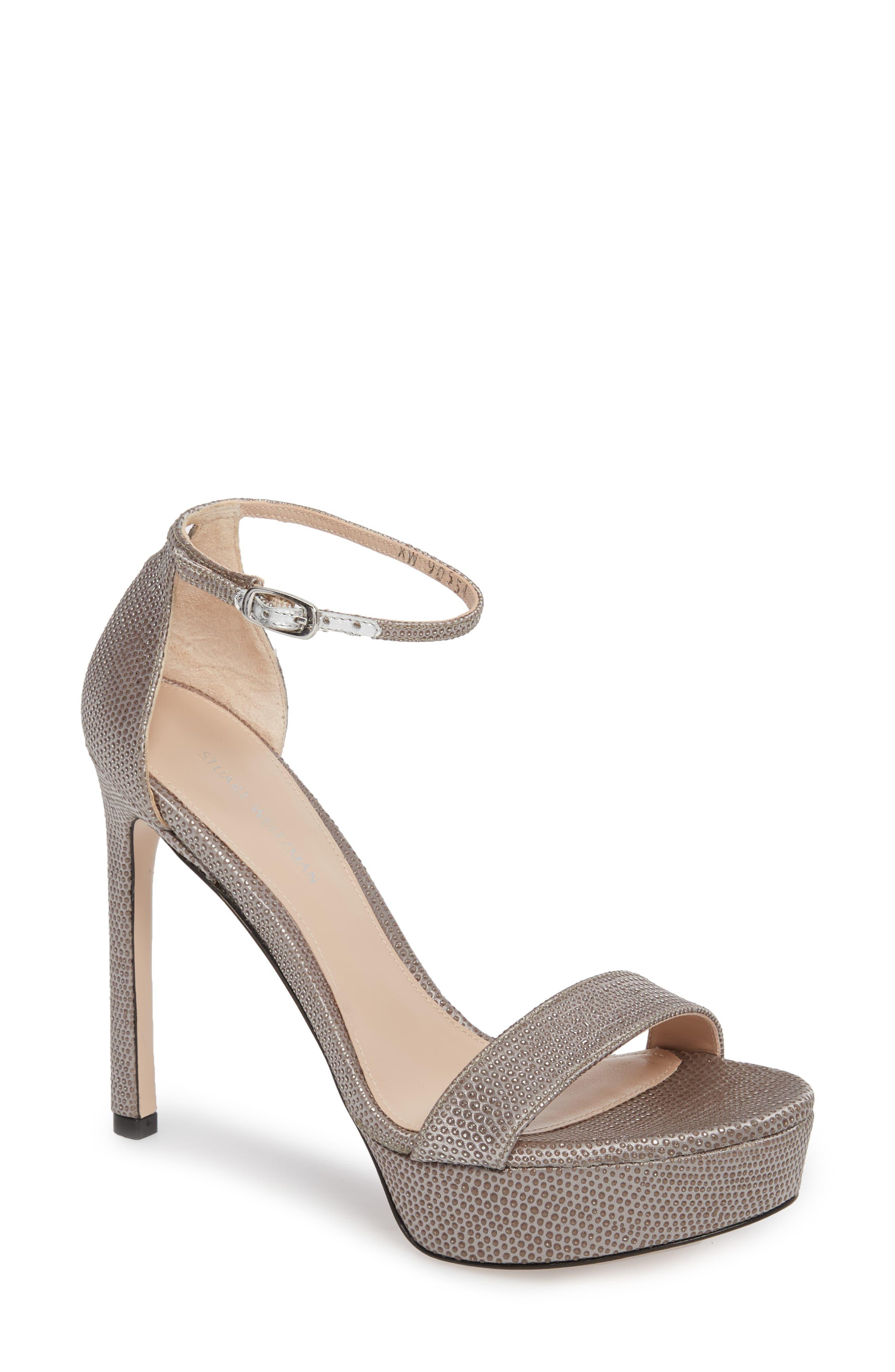 Alternate Image 1 Selected - Stuart Weitzamn SOHOT Platform Sandal (Women)