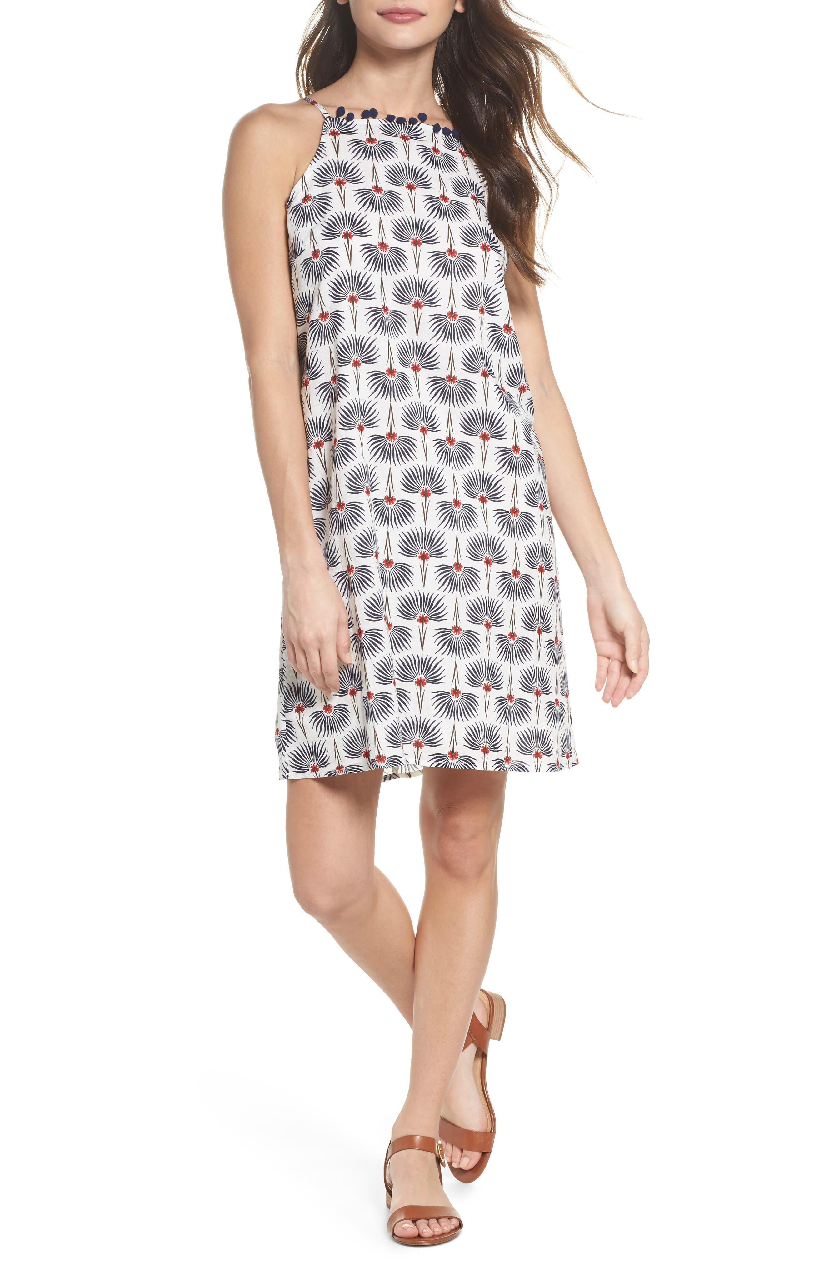 Alternate Image 1 Selected - THML Halter Shift Dress