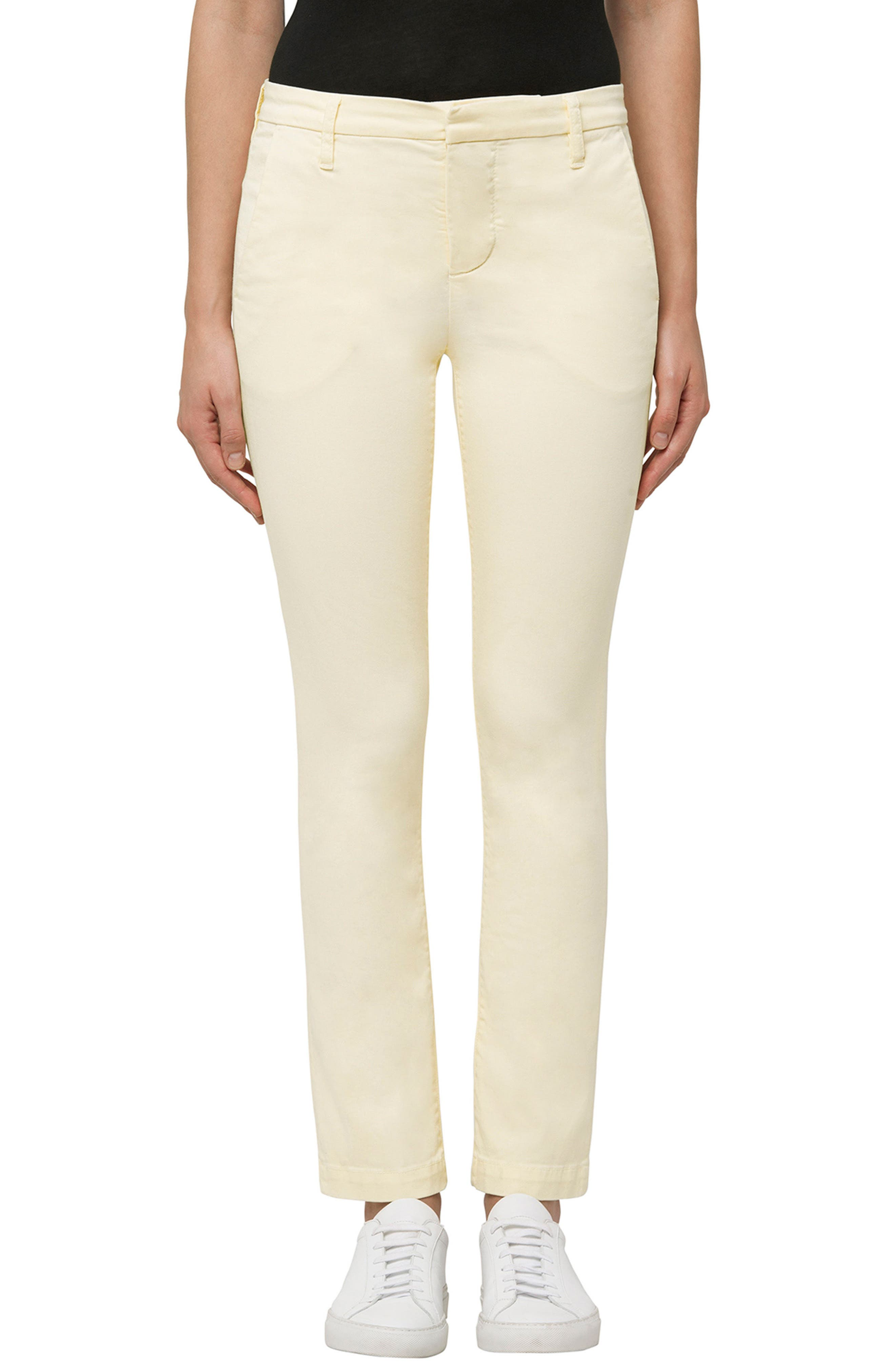 Alternate Image 1 Selected - J Brand Clara Ankle Trousers (Butter)
