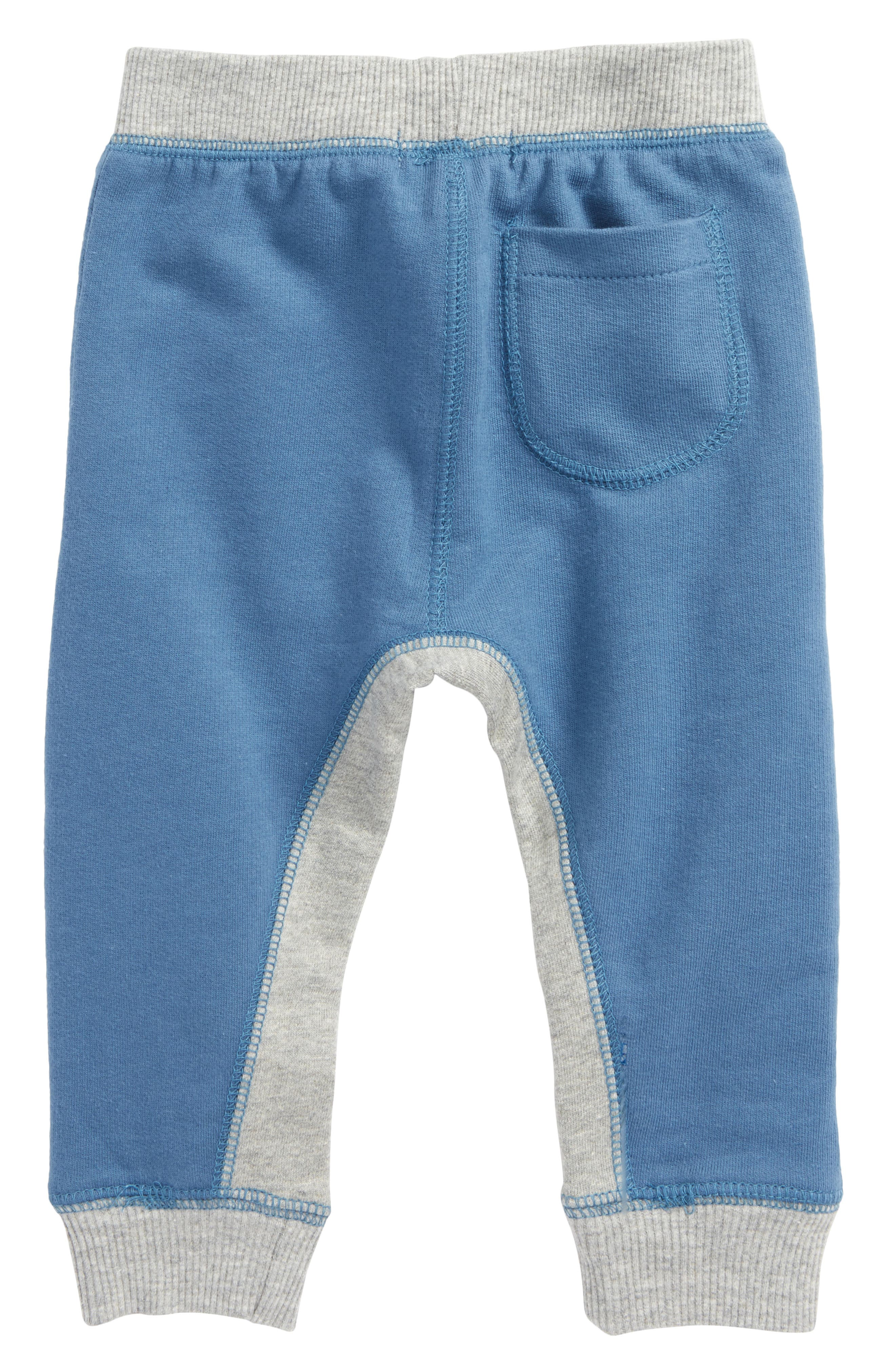 Alternate Image 2  - Burt's Bees Baby Organic Cotton French Terry Pants (Baby Boys)