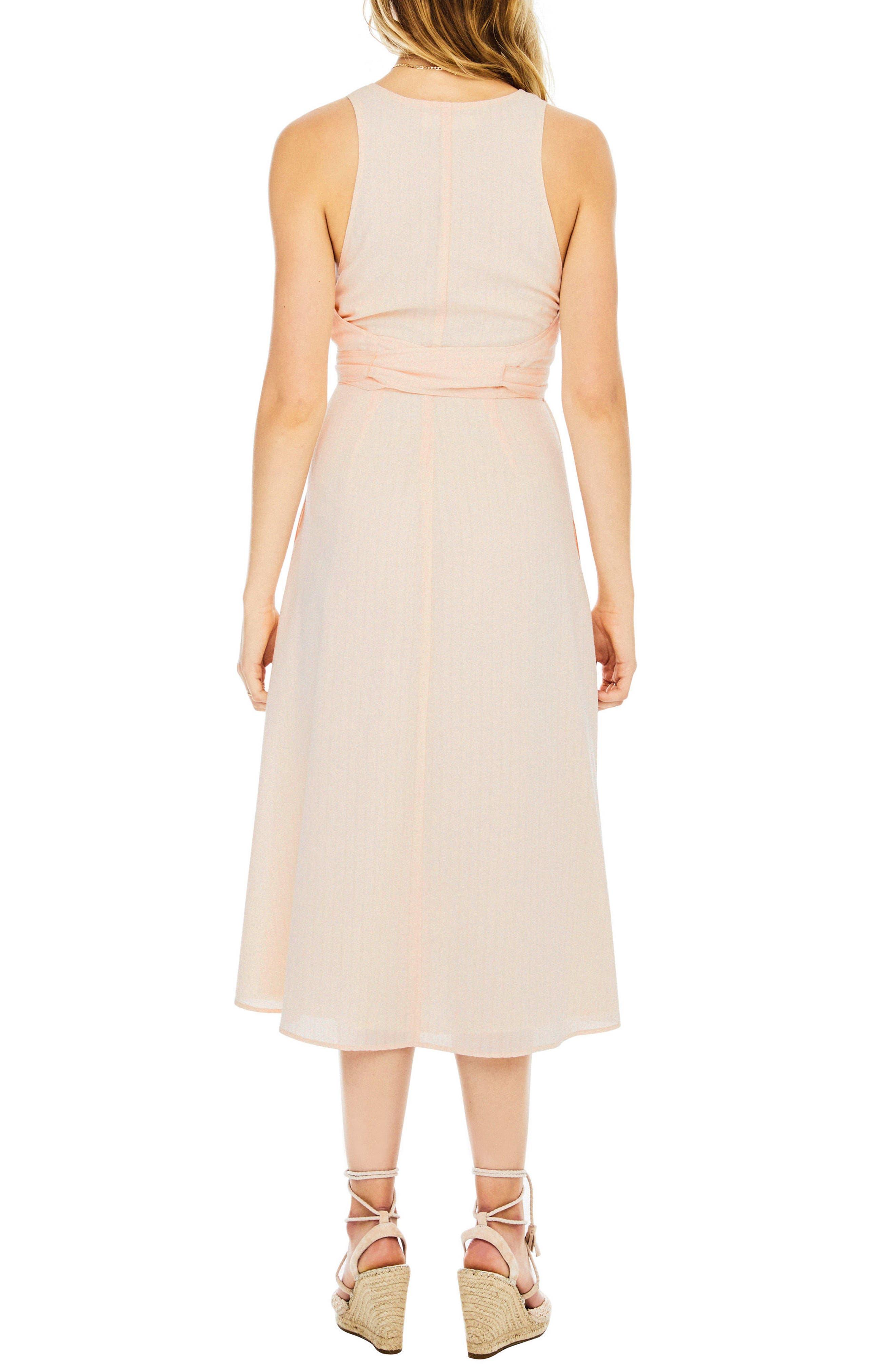 Brady Dress,                             Alternate thumbnail 3, color,                             Powder Pink