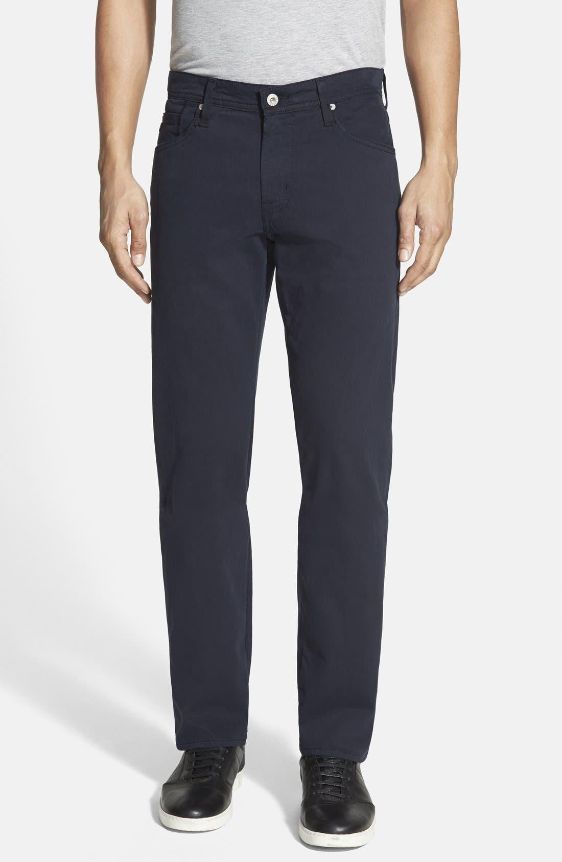 Main Image - AG 'Protégé SUD' Straight Leg Pants