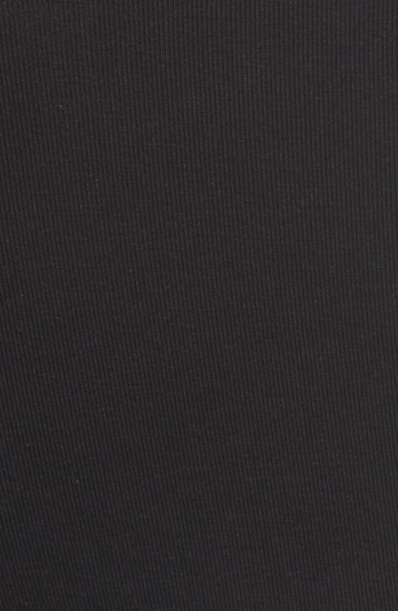 Sportswear Women's Leggings,                             Alternate thumbnail 6, color,                             Black/ Black/ Black