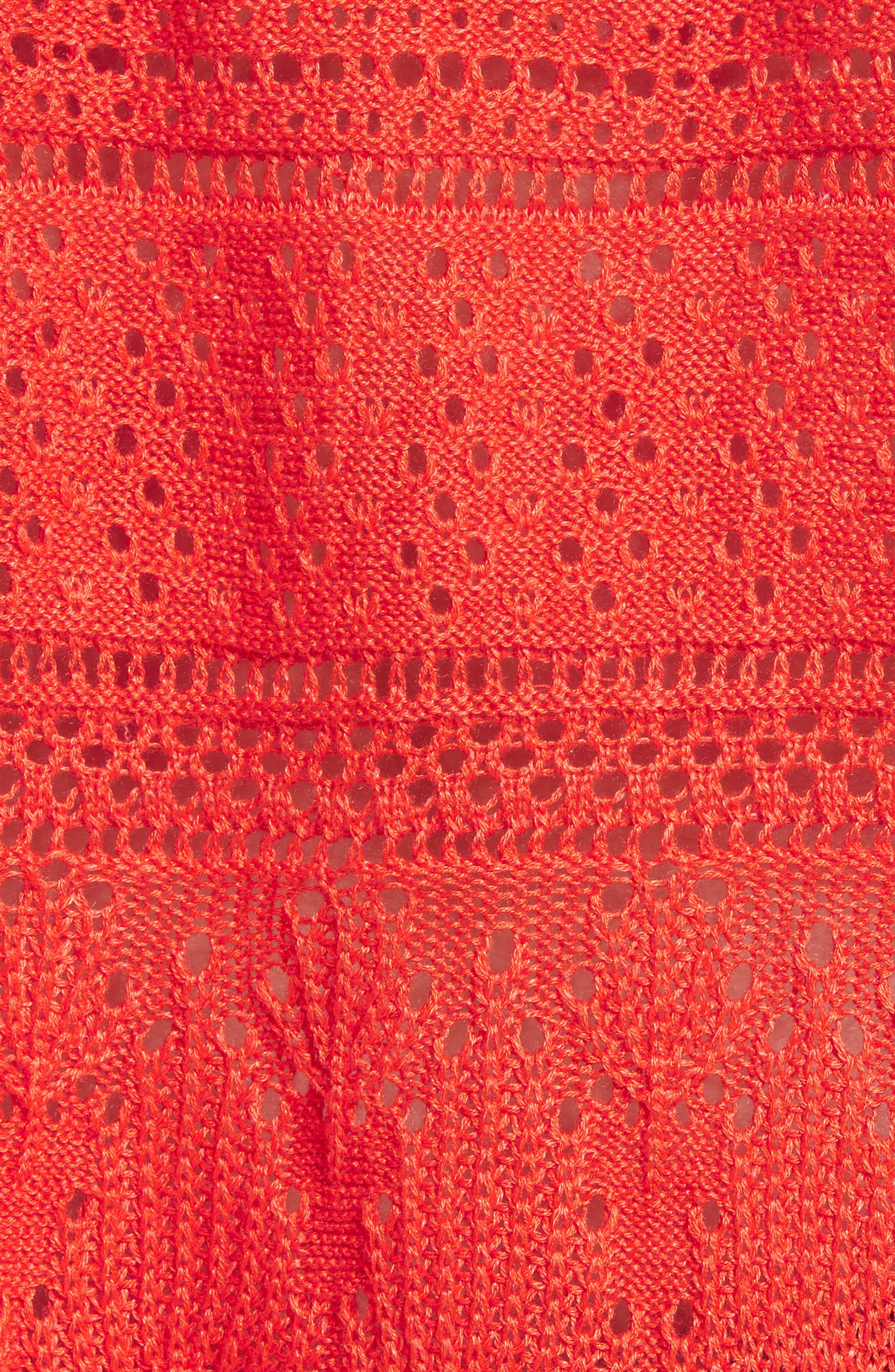 Once Upon a Time Lace Top,                             Alternate thumbnail 6, color,                             Red