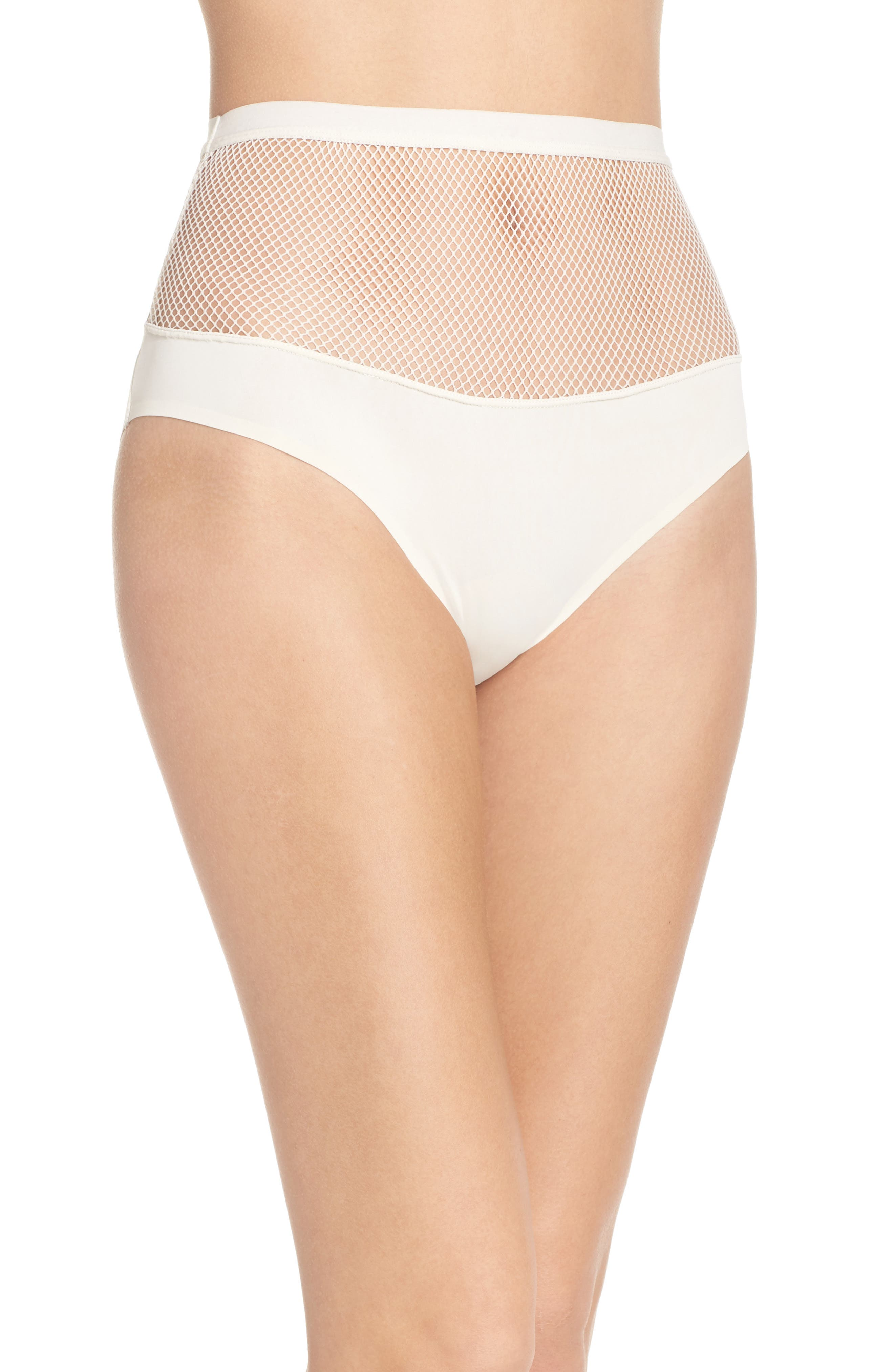 Honeydew Fishnet Hipster Panties,                         Main,                         color, Macrame