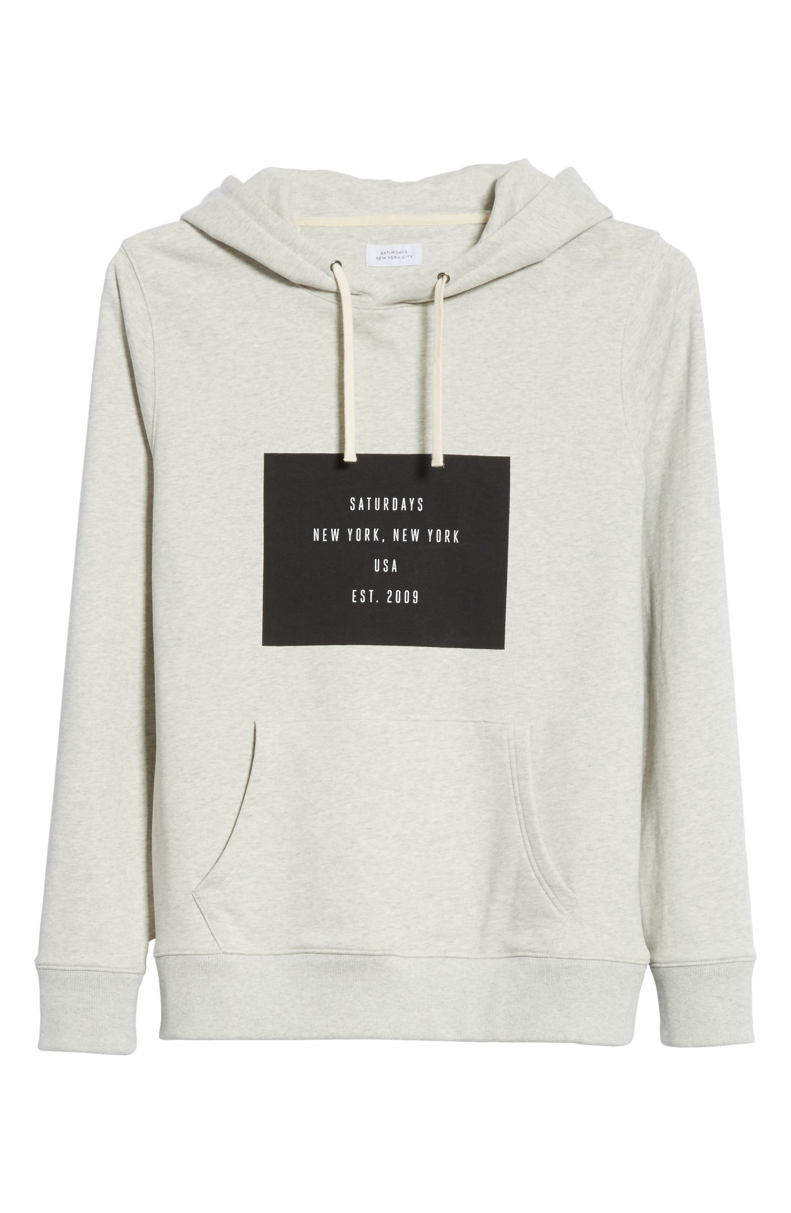 Ditch Graphic Hoodie,                             Alternate thumbnail 6, color,                             Natural Heather