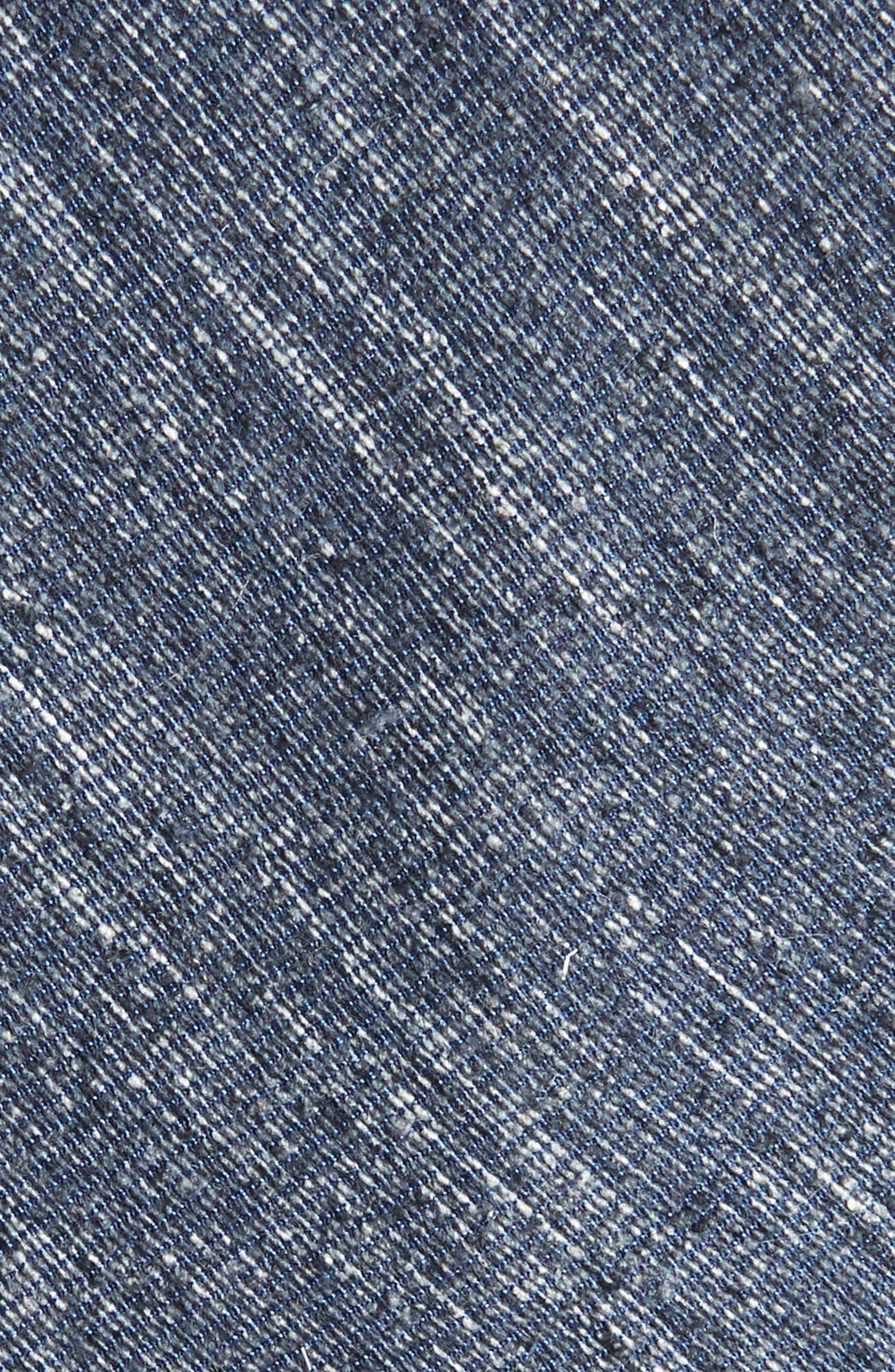 West Ridge Silk Skinny Tie,                             Alternate thumbnail 2, color,                             Navy