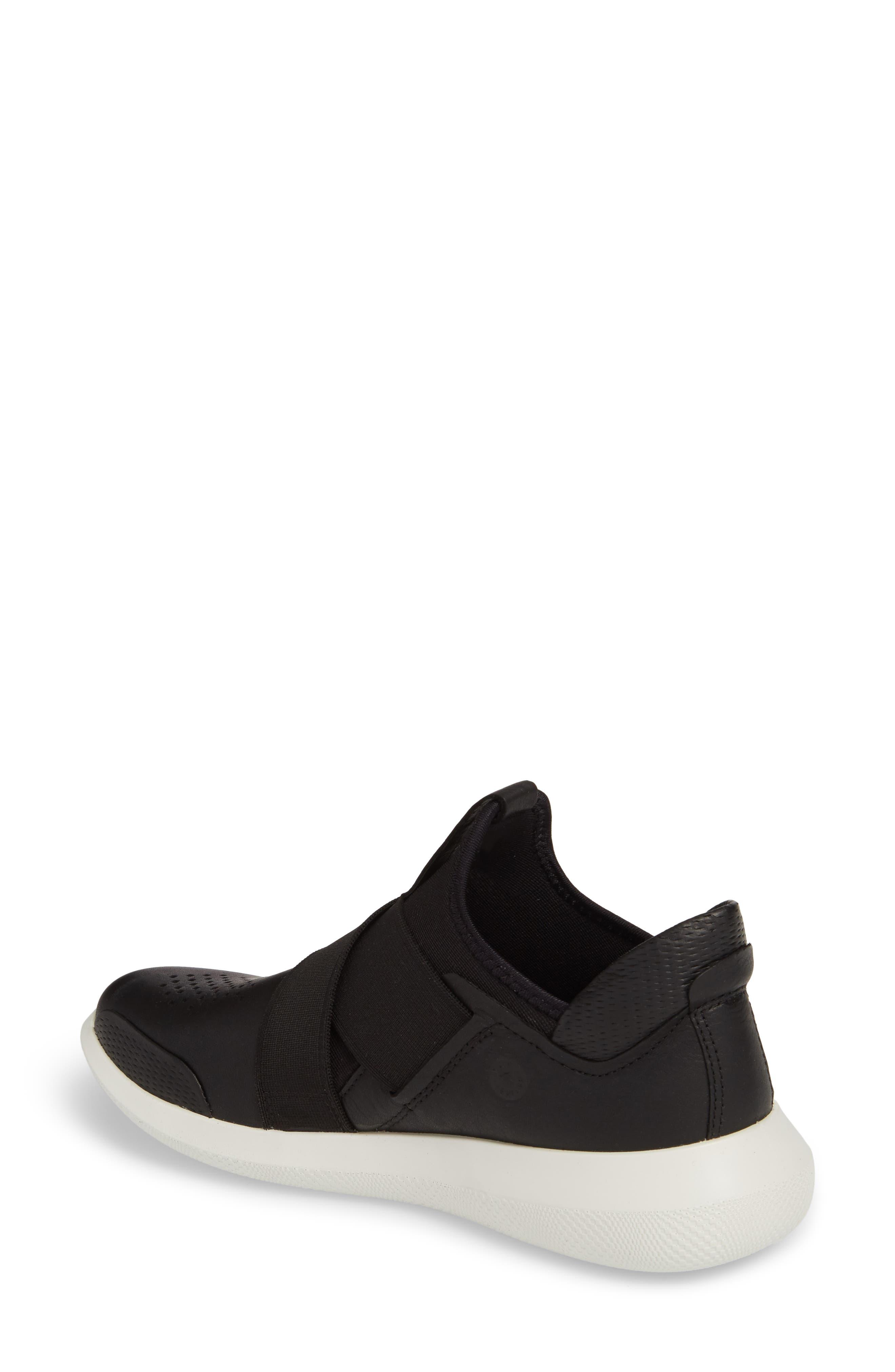 Scinapse Band Sneaker,                             Alternate thumbnail 2, color,                             Black