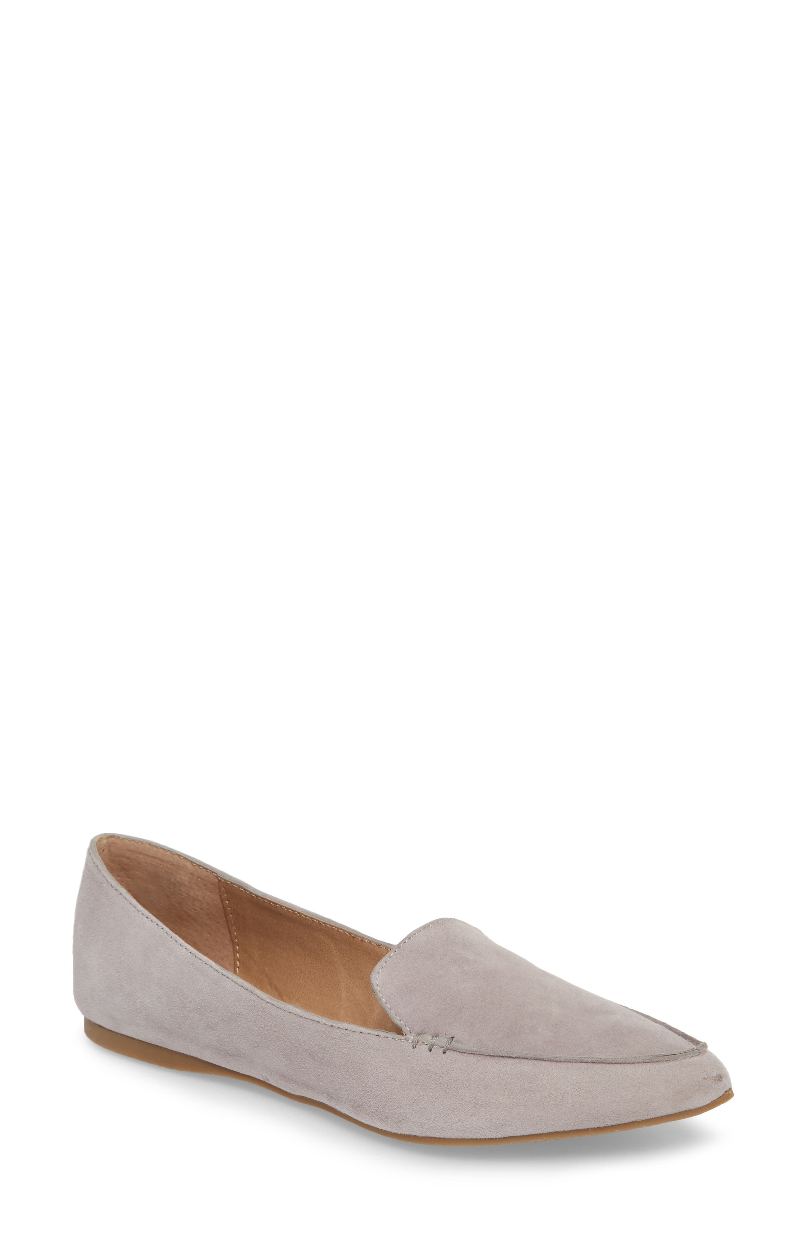Steve Madden Feather Loafer Flat (Women)