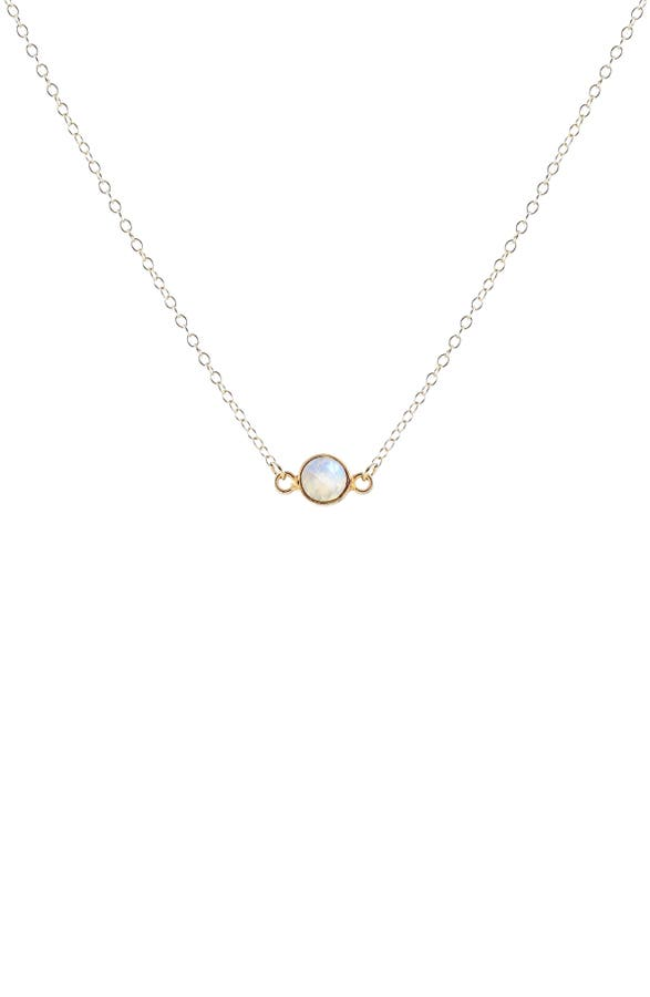 Kris Nations Birthstone Necklace | Nordstrom