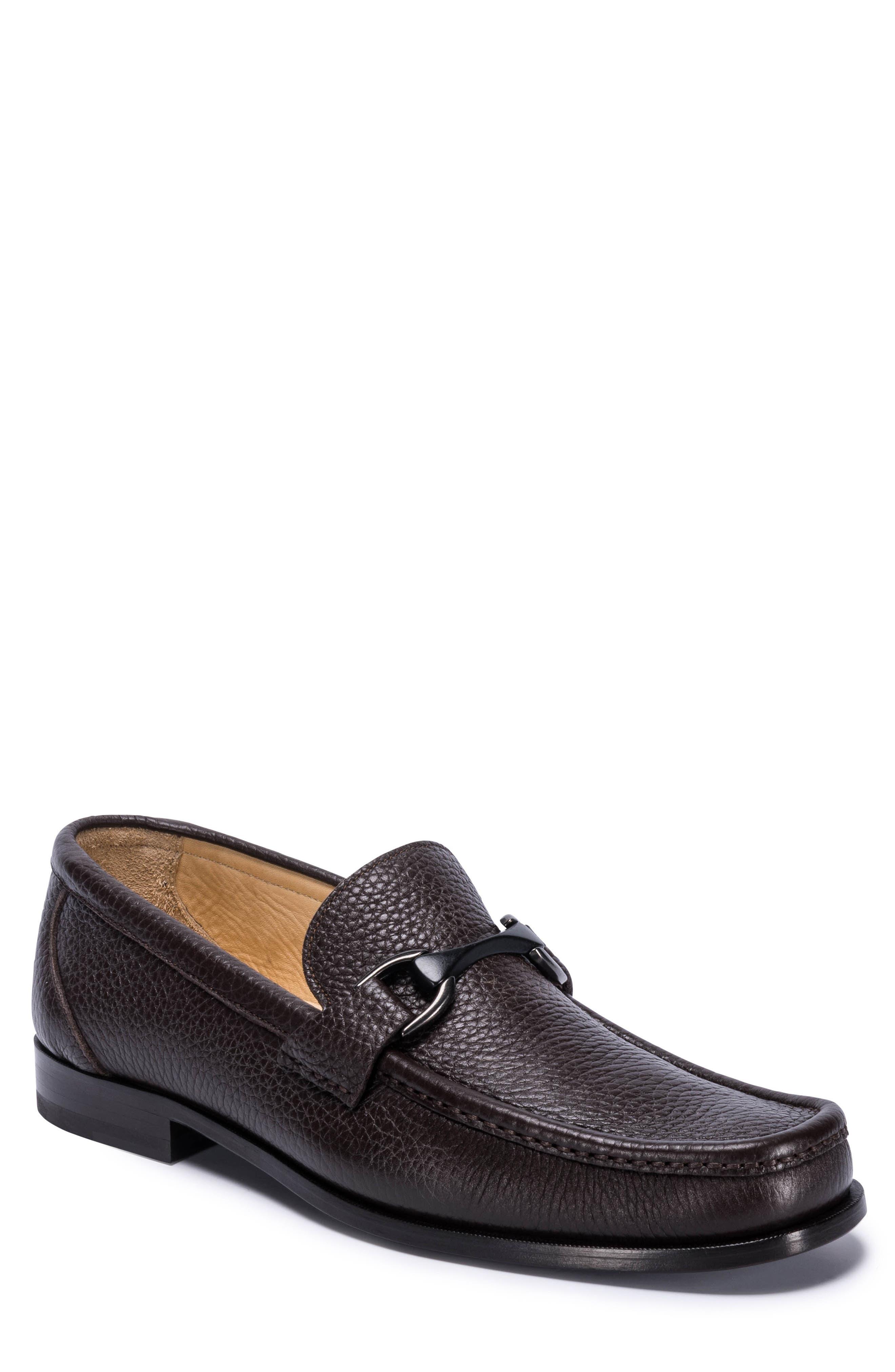 Padua Bit Loafer,                         Main,                         color, Brown Leather
