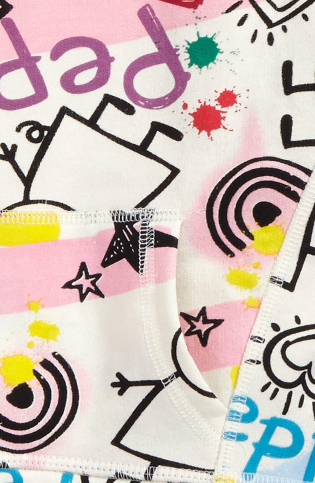Alternate Image 2  - Happy Threads Peppa Pig Graphic Sweatshirt (Toddler Girls & Little Girls)