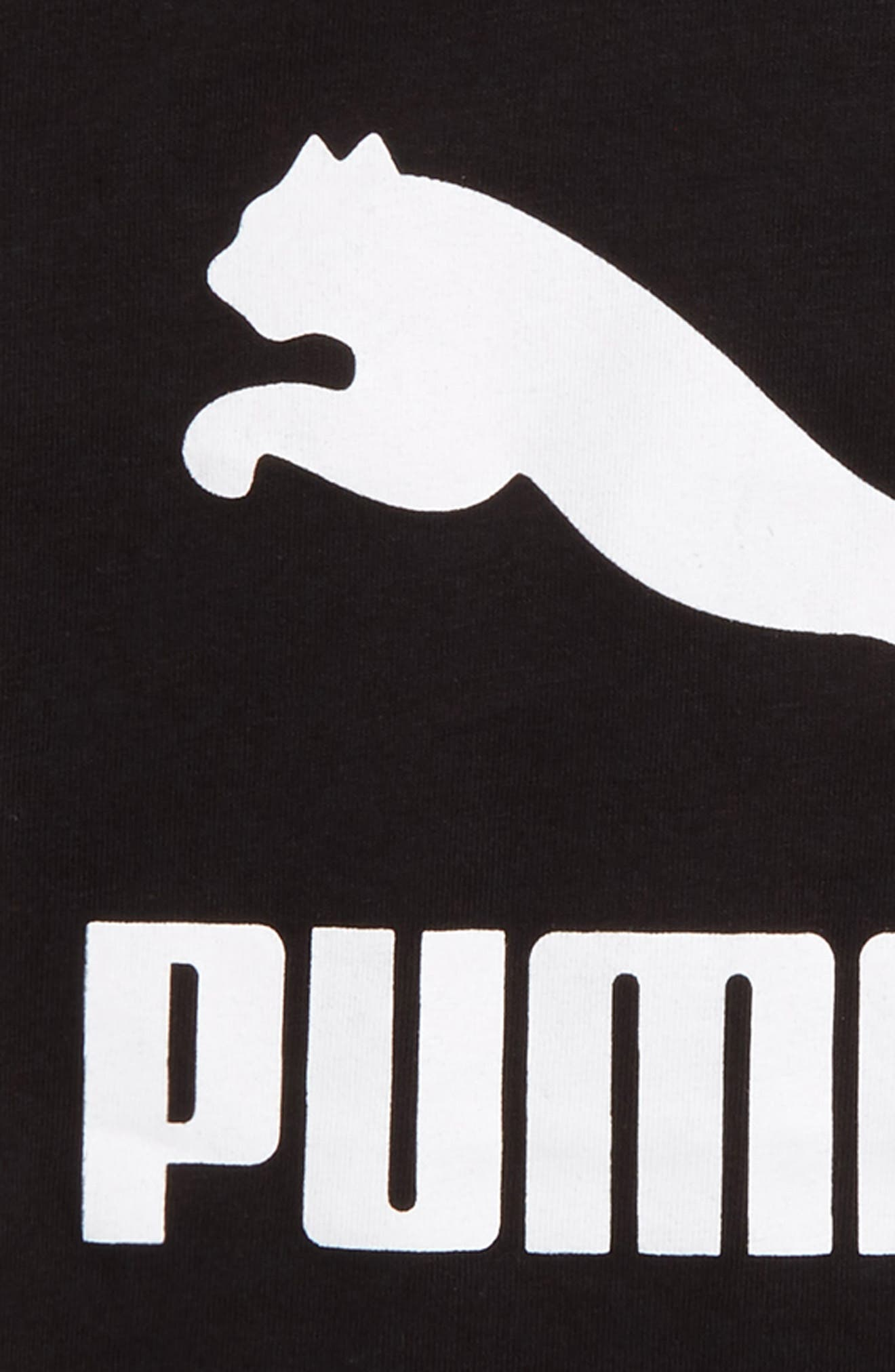 Logo Graphic T-Shirt,                             Alternate thumbnail 2, color,                             Puma Black