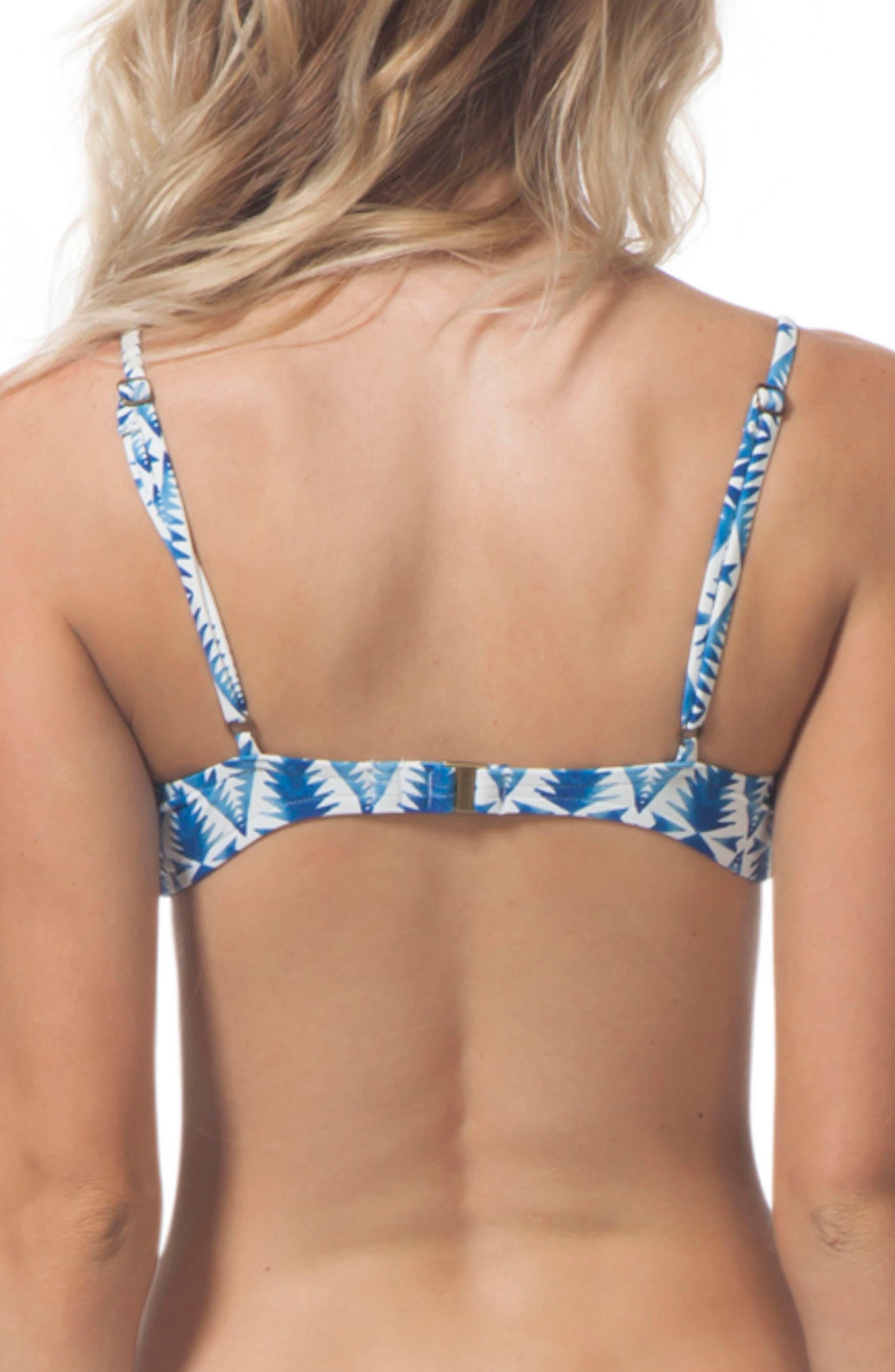 Beach Bazaar Bralette Bikini Top,                             Alternate thumbnail 2, color,                             Blue
