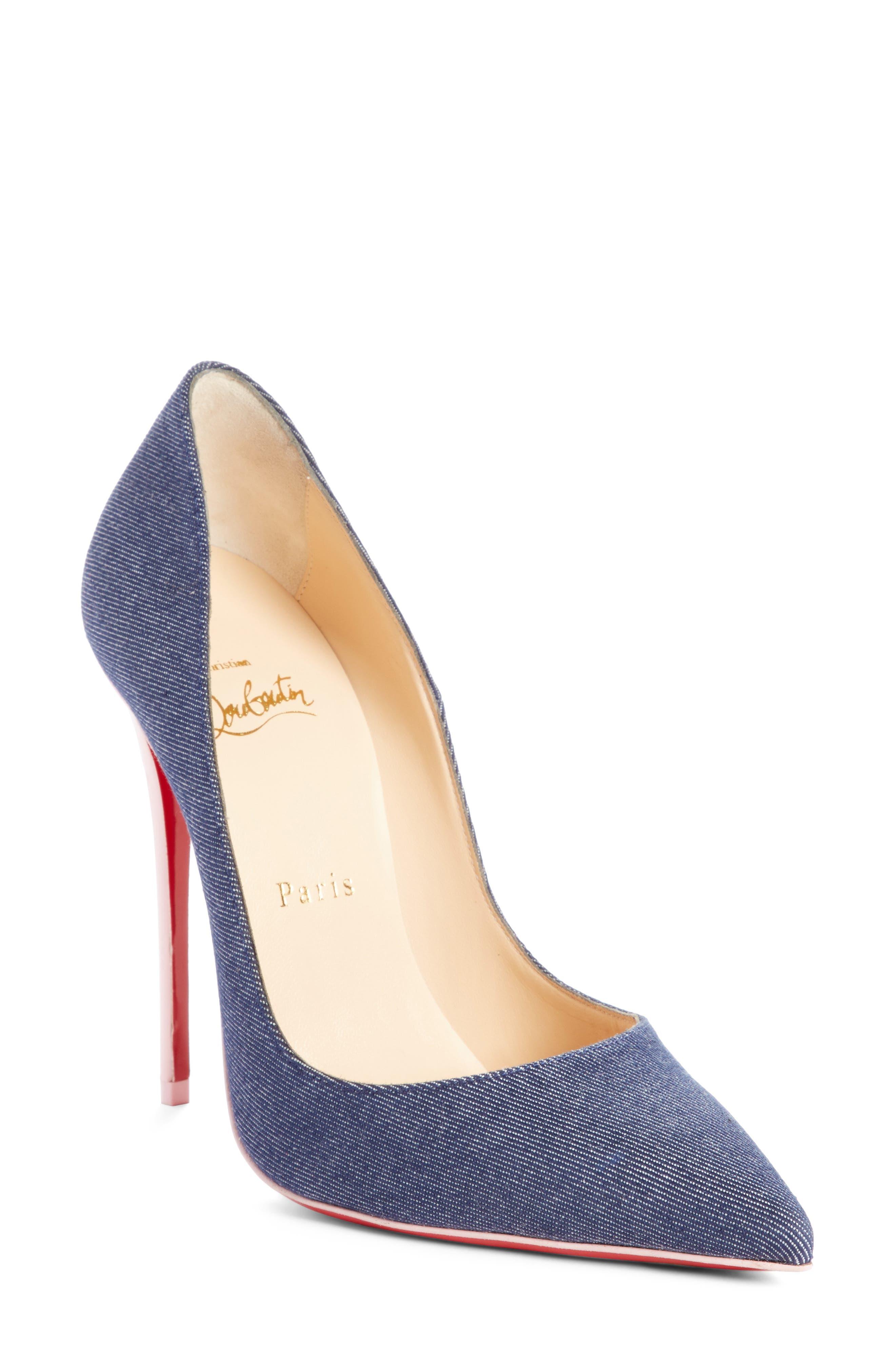 So Kate Pointy Toe Pump,                         Main,                         color, Blue/ Pompadour