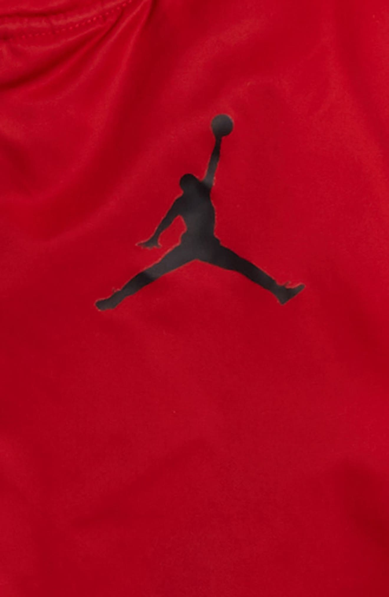 Jordan Fall in Line Jacket,                             Alternate thumbnail 3, color,                             Gym Red