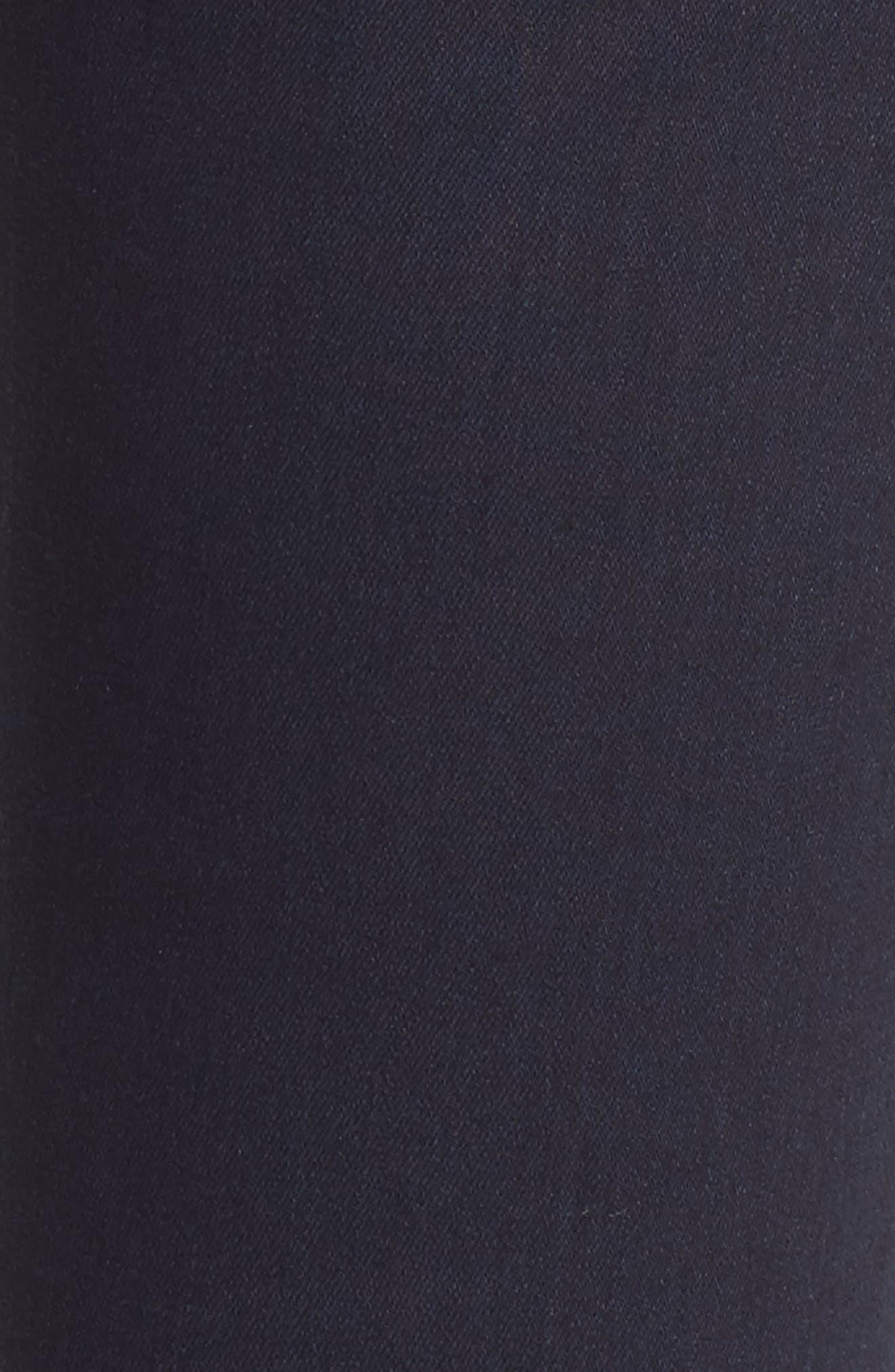Rocket High Waist Skinny Jeans,                             Alternate thumbnail 6, color,                             Ozone Ink