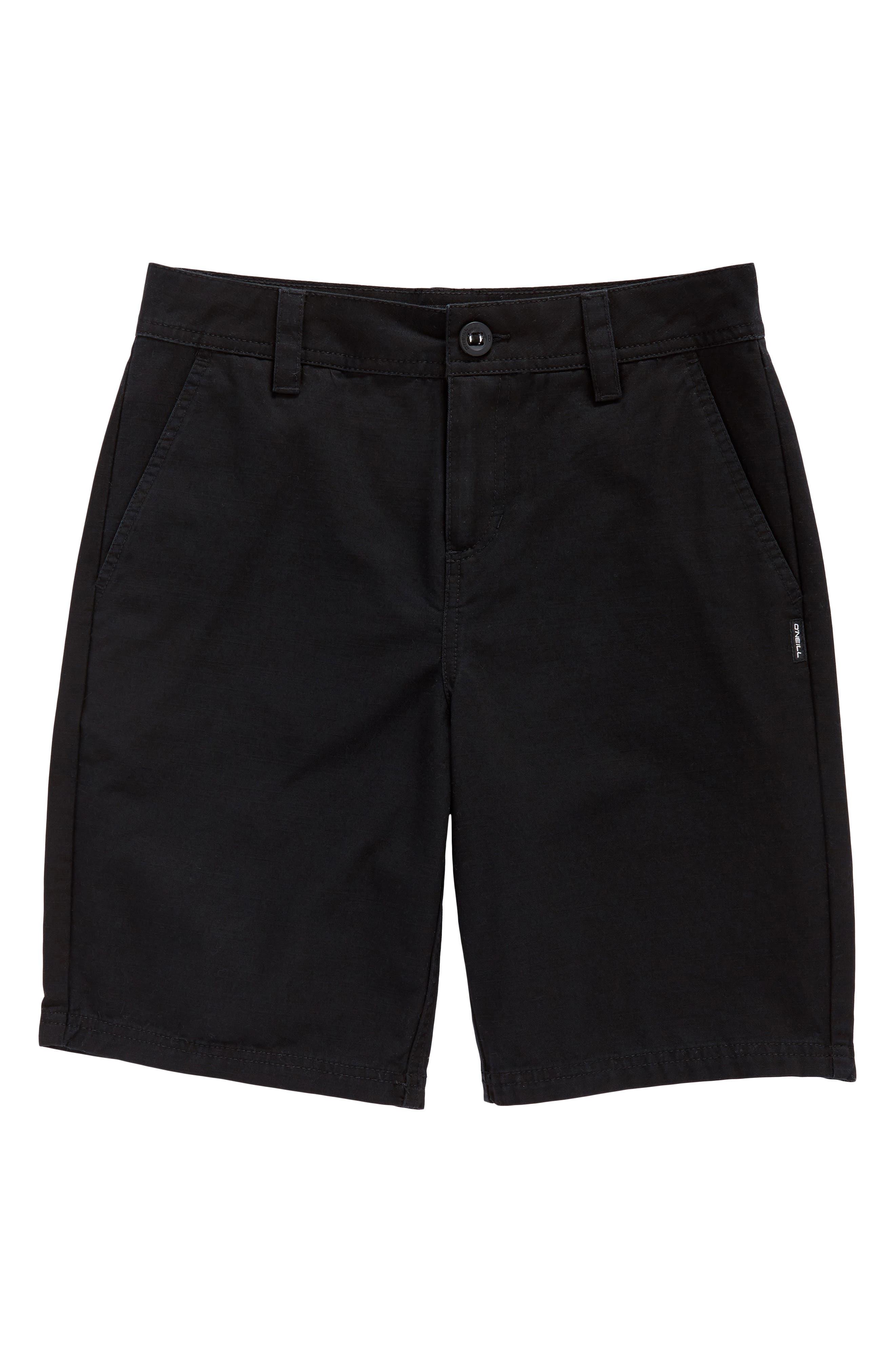 Jay Chino Shorts,                             Main thumbnail 1, color,                             Black