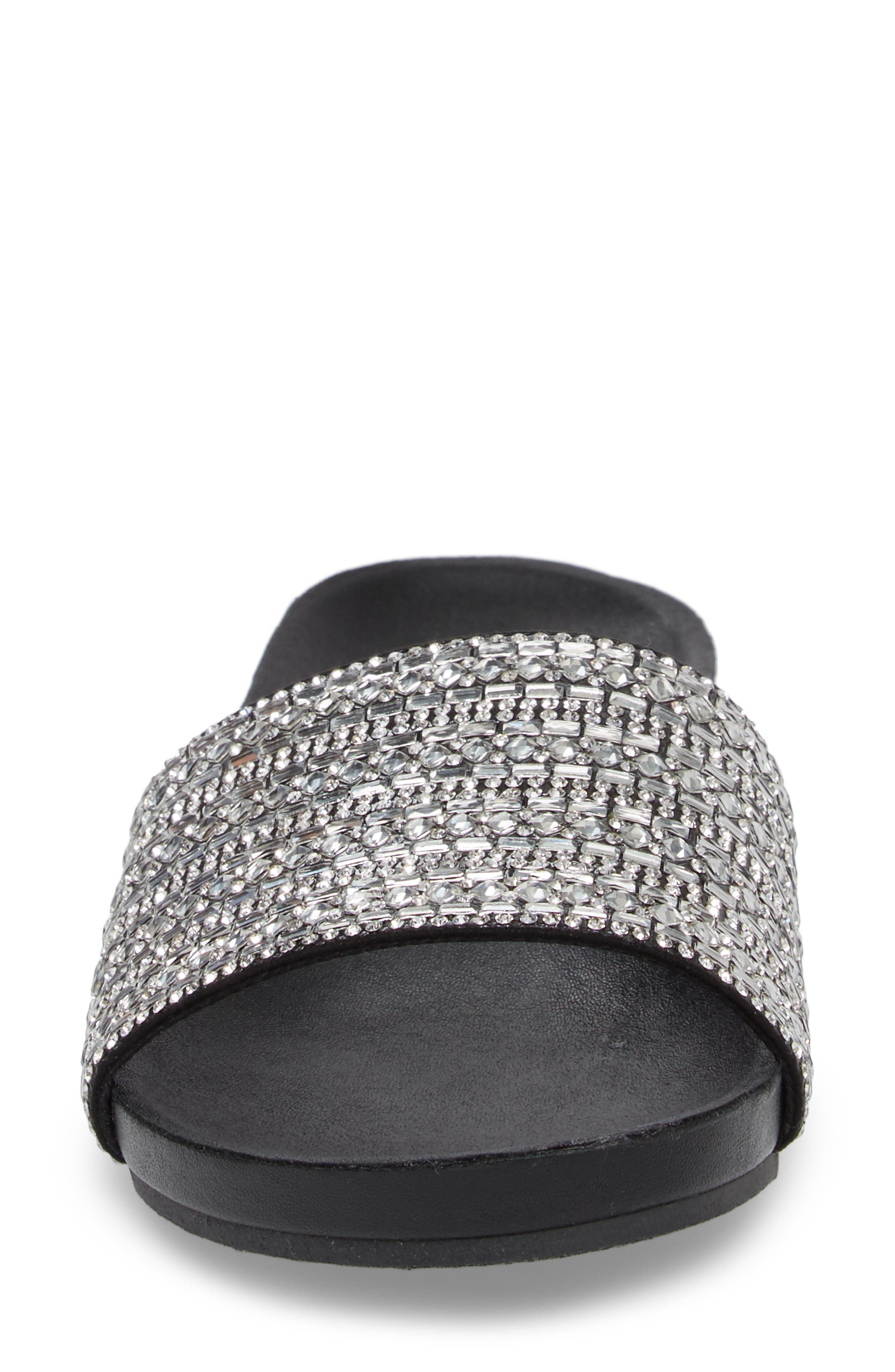 Alternate Image 4  - Steve Madden Dazzle Embellished Slide Sandal (Women)