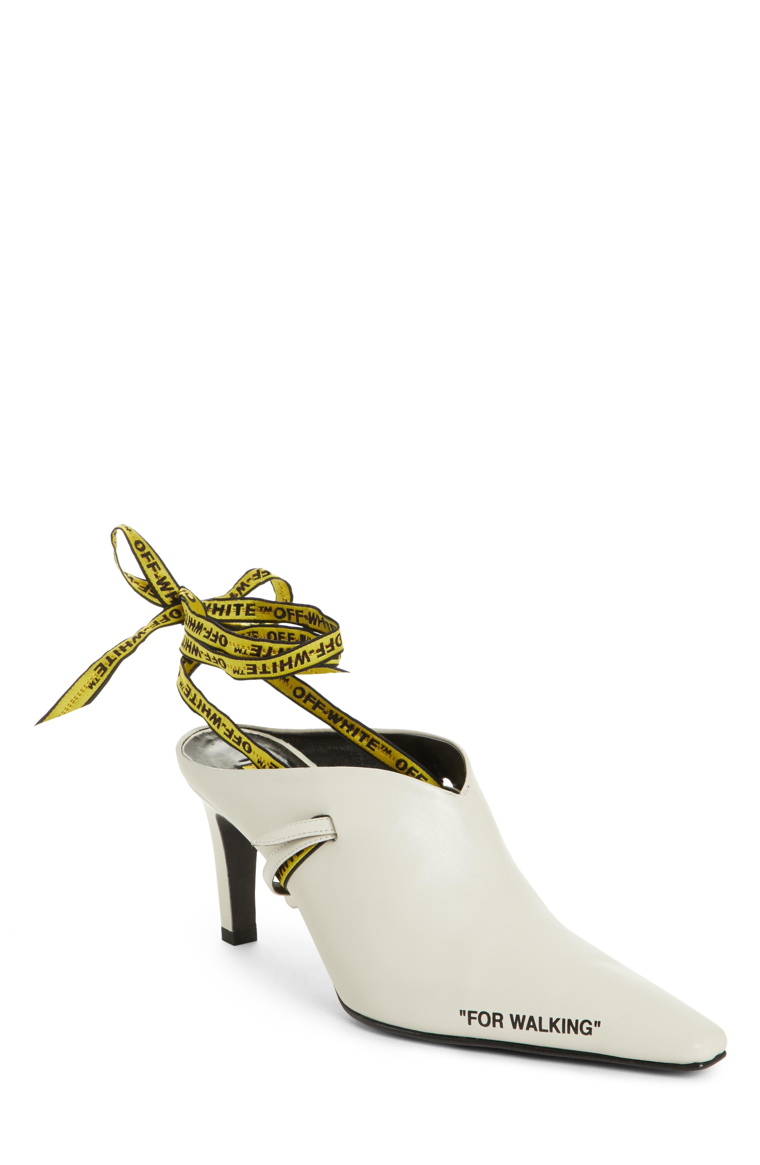 Alternate Image 1 Selected - Off-White For Walking Mule Pump (Women)