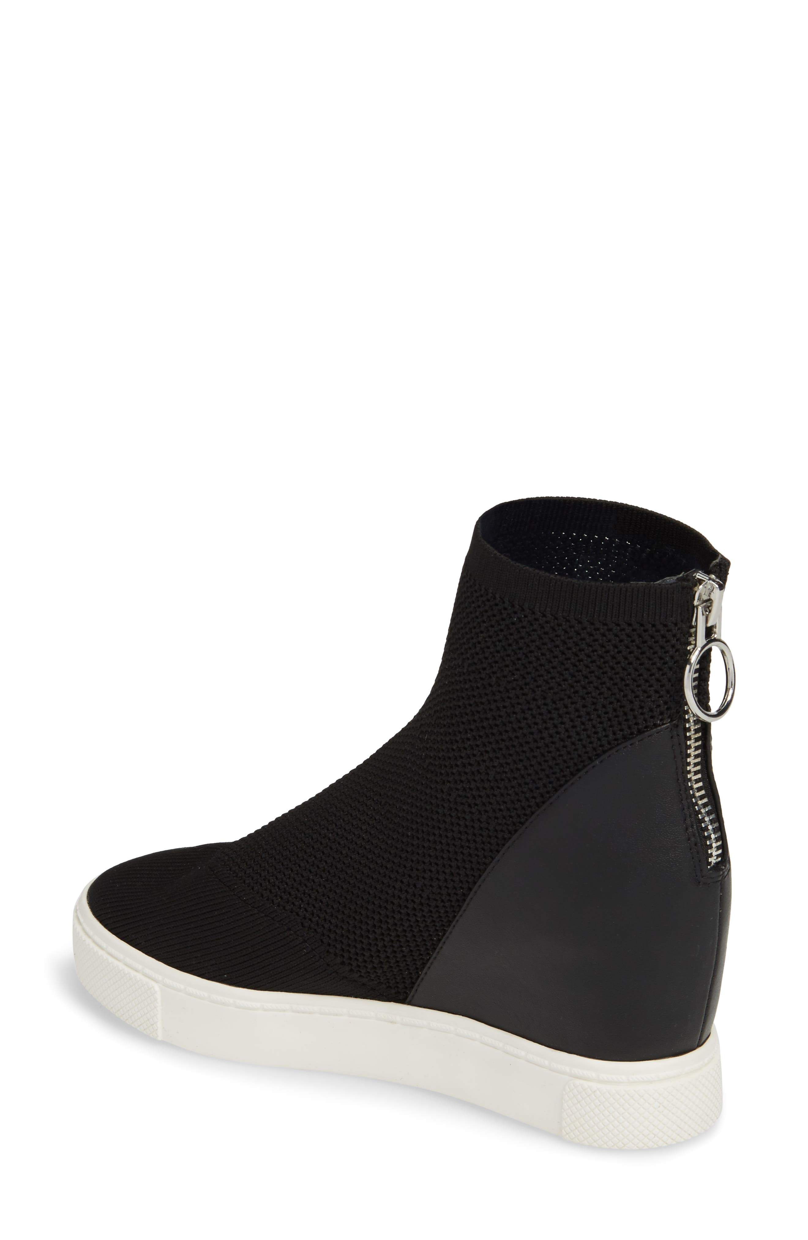 Lizzy Sneaker Bootie,                             Alternate thumbnail 2, color,                             Black