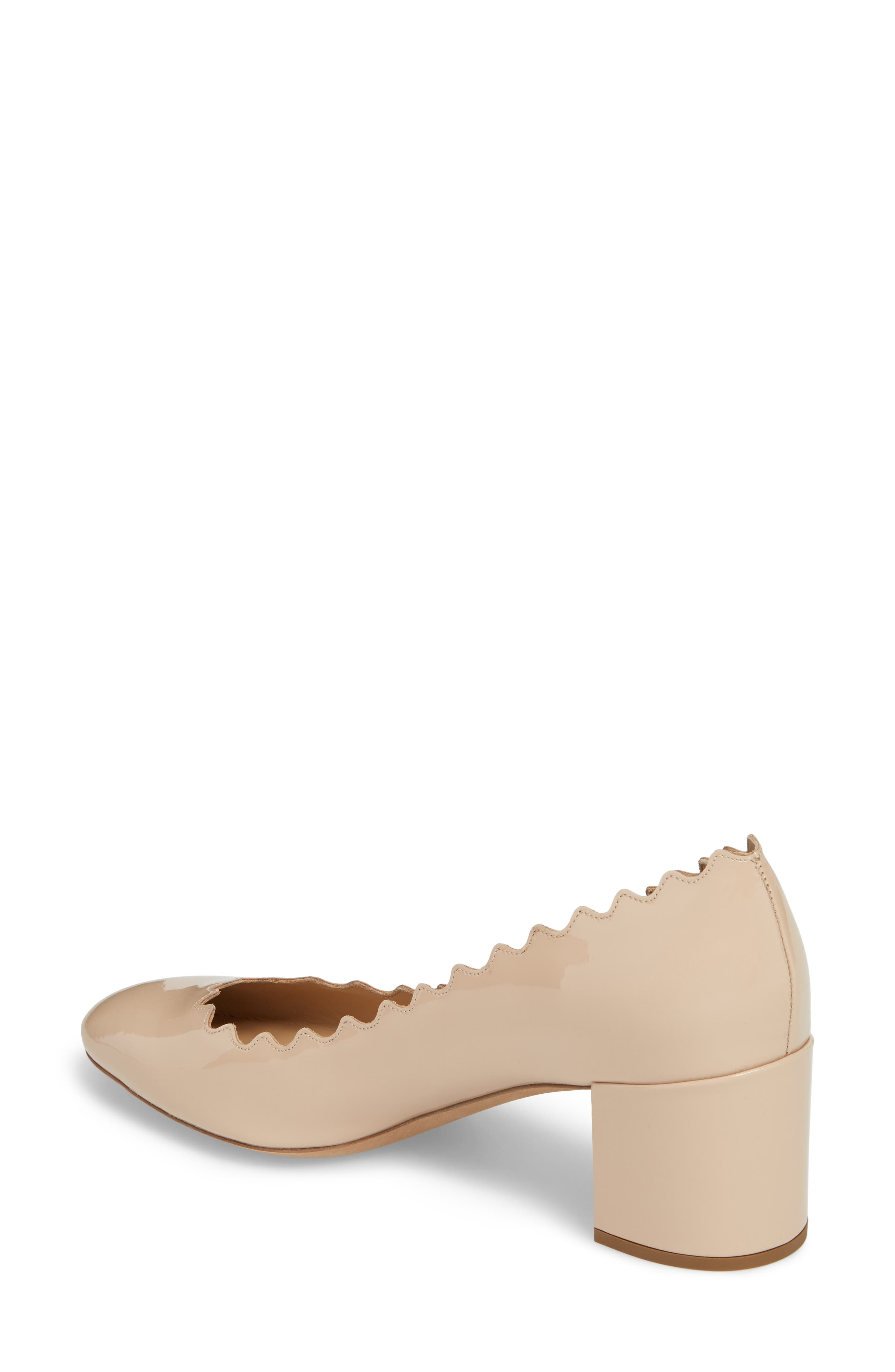 Lauren Pump,                             Alternate thumbnail 2, color,                             Mild Beige Patent